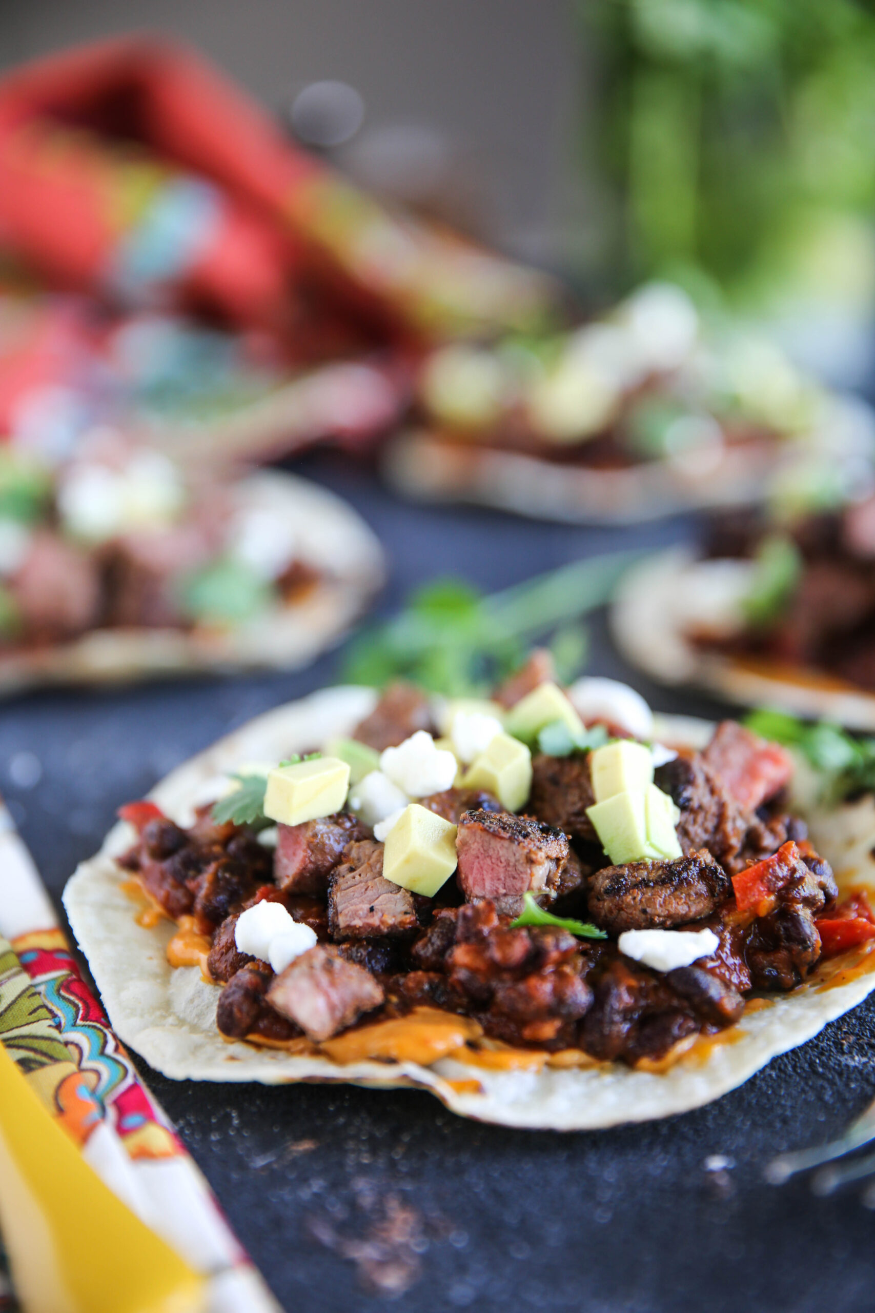 PaleOMG Steak & Bean Tostadas
