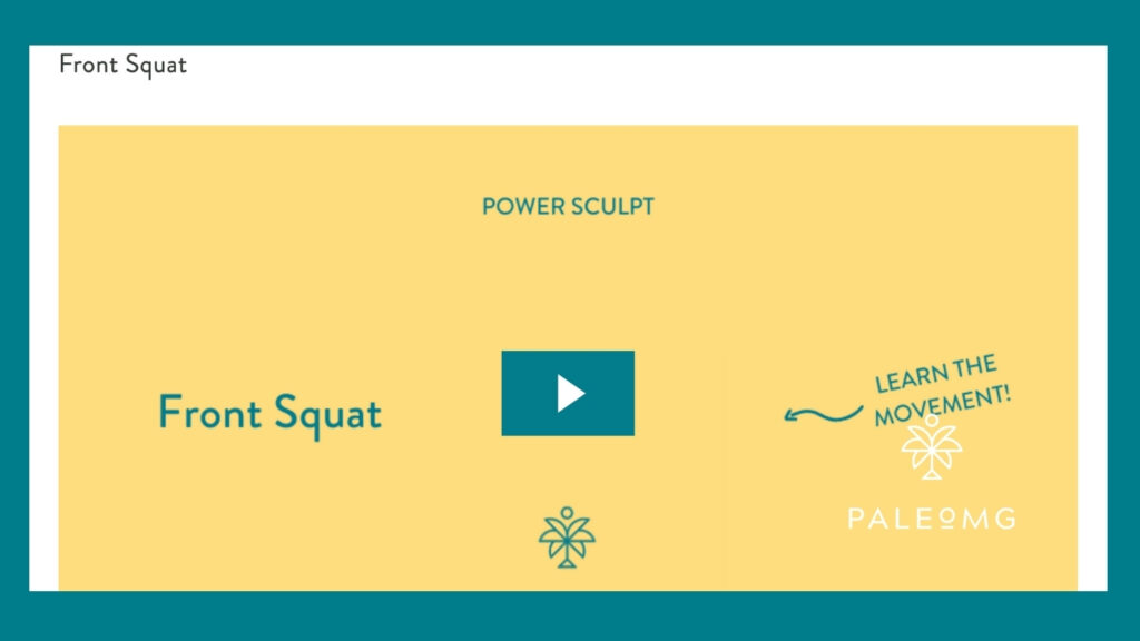 Power Sculpt Movement