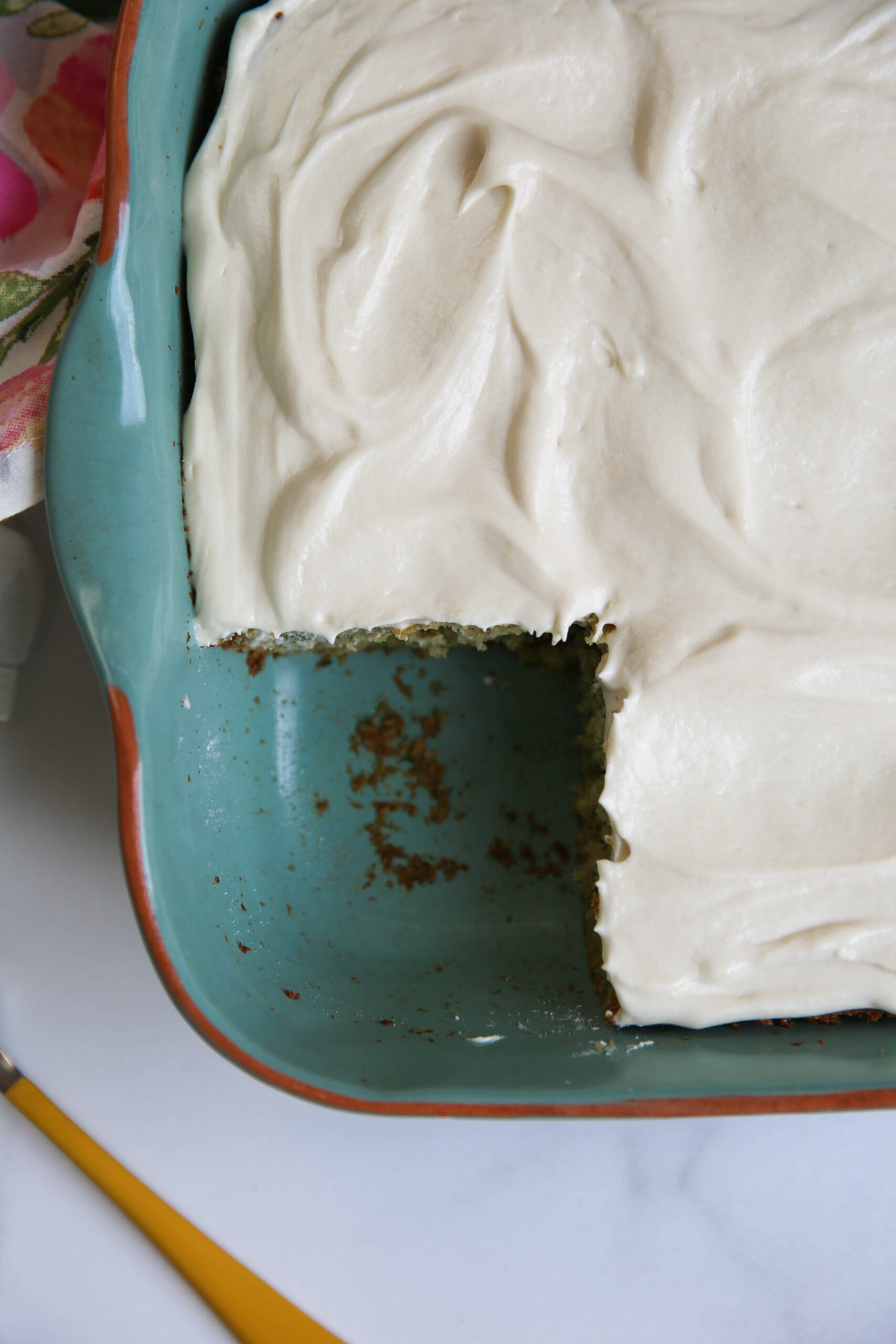 PaleOMG Frosted Zucchini Cake