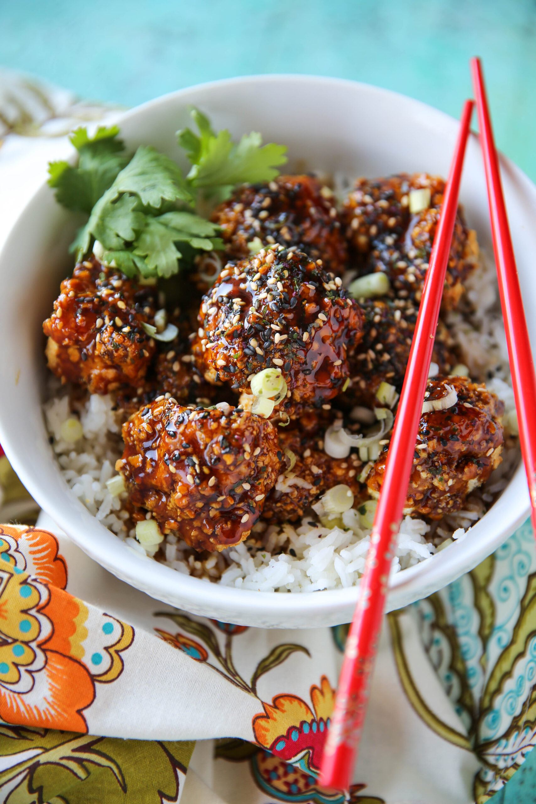 PaleOMG Air Fryer Sesame Cauliflower