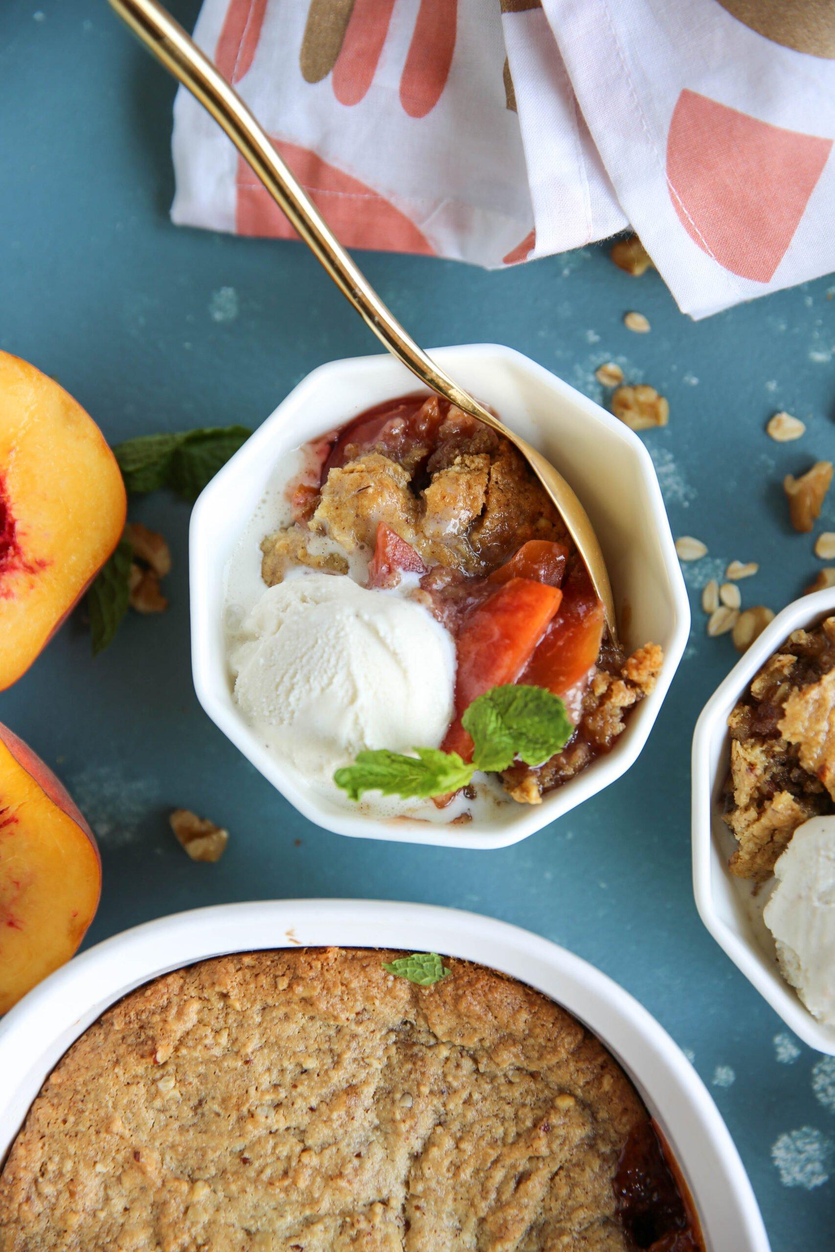 PaleOMG Peach Crisp