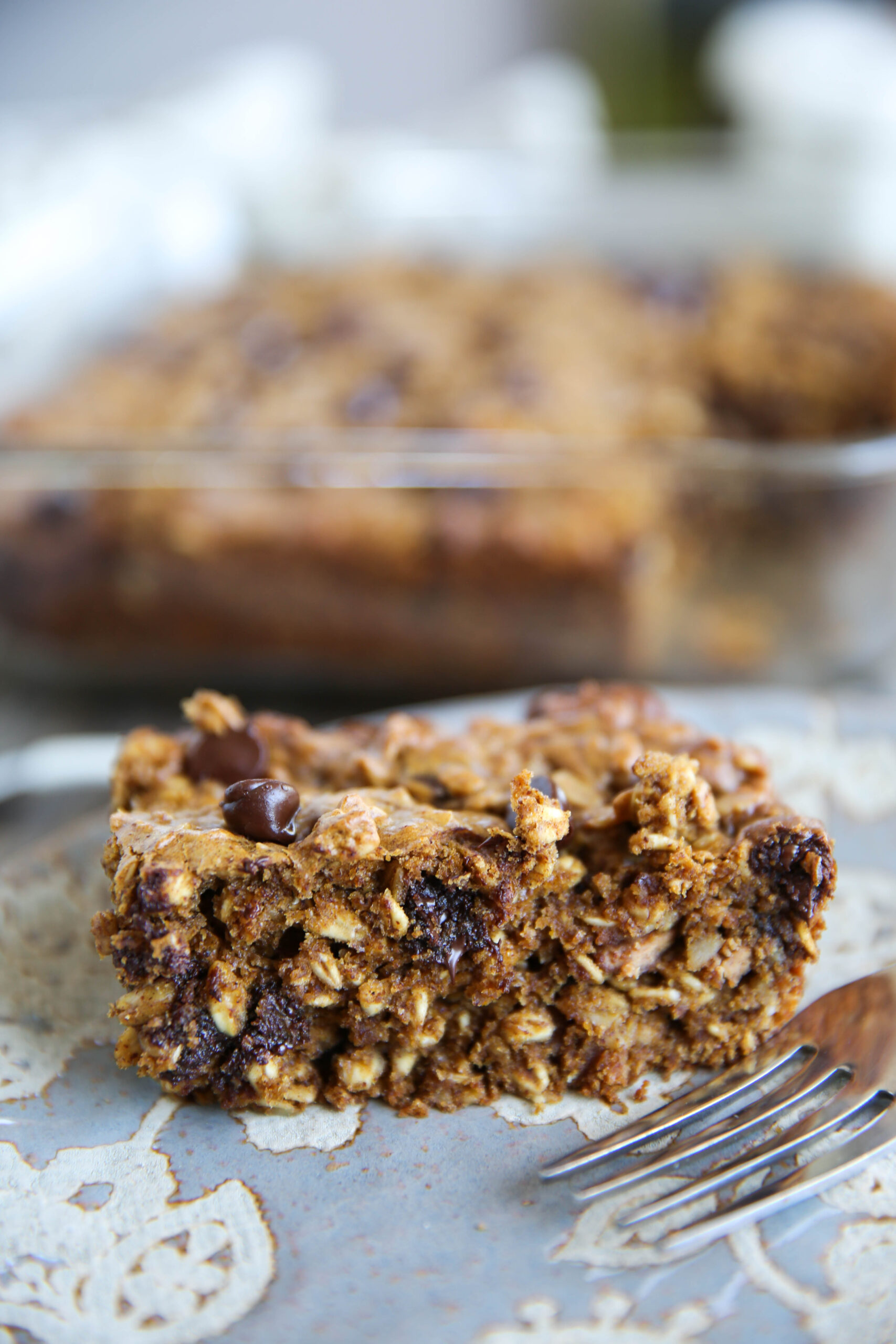 PaleOMG Pumpkin Chocolate Chip Oat Bars