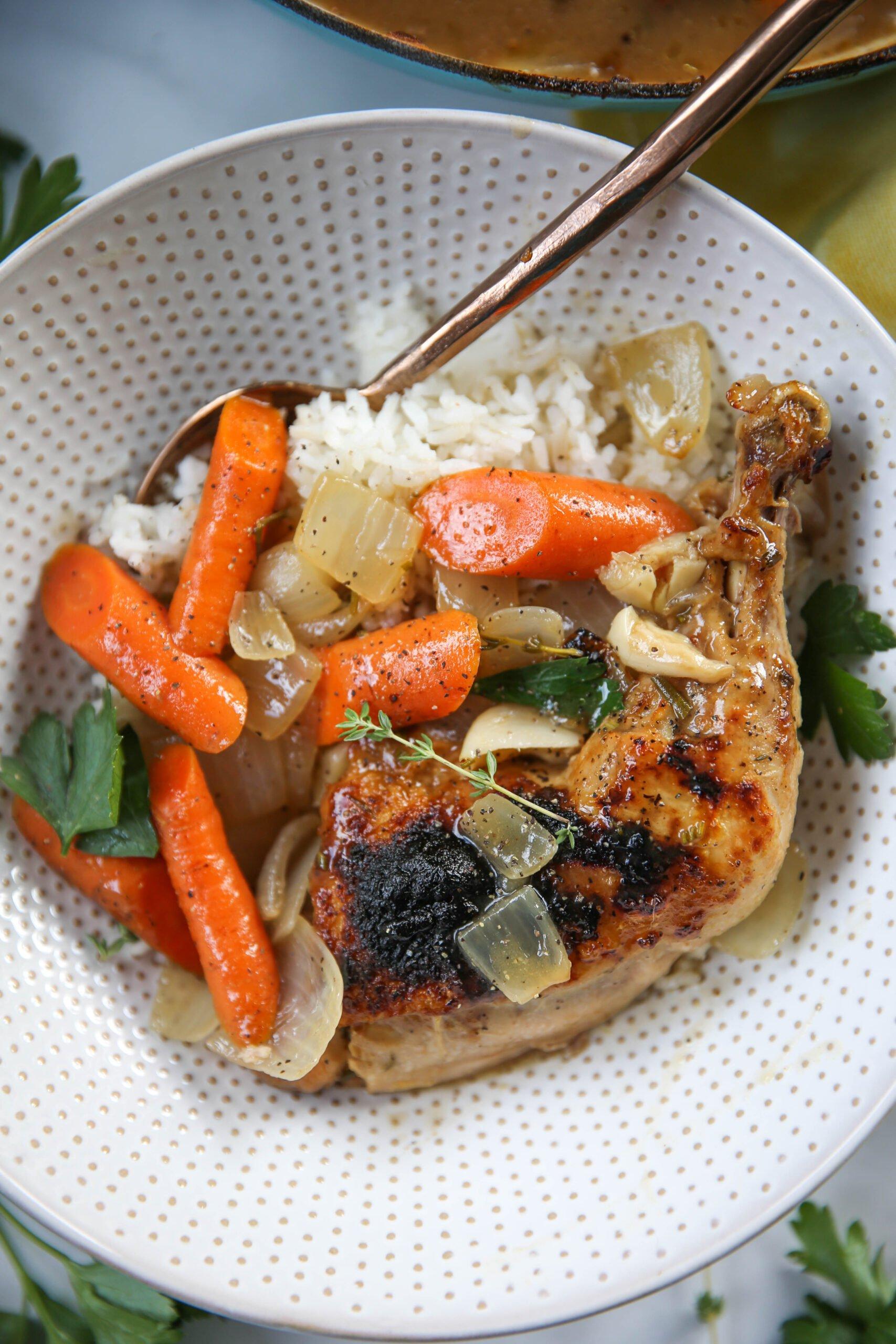 PaleOMG Dutch Oven Chicken & Vegetables