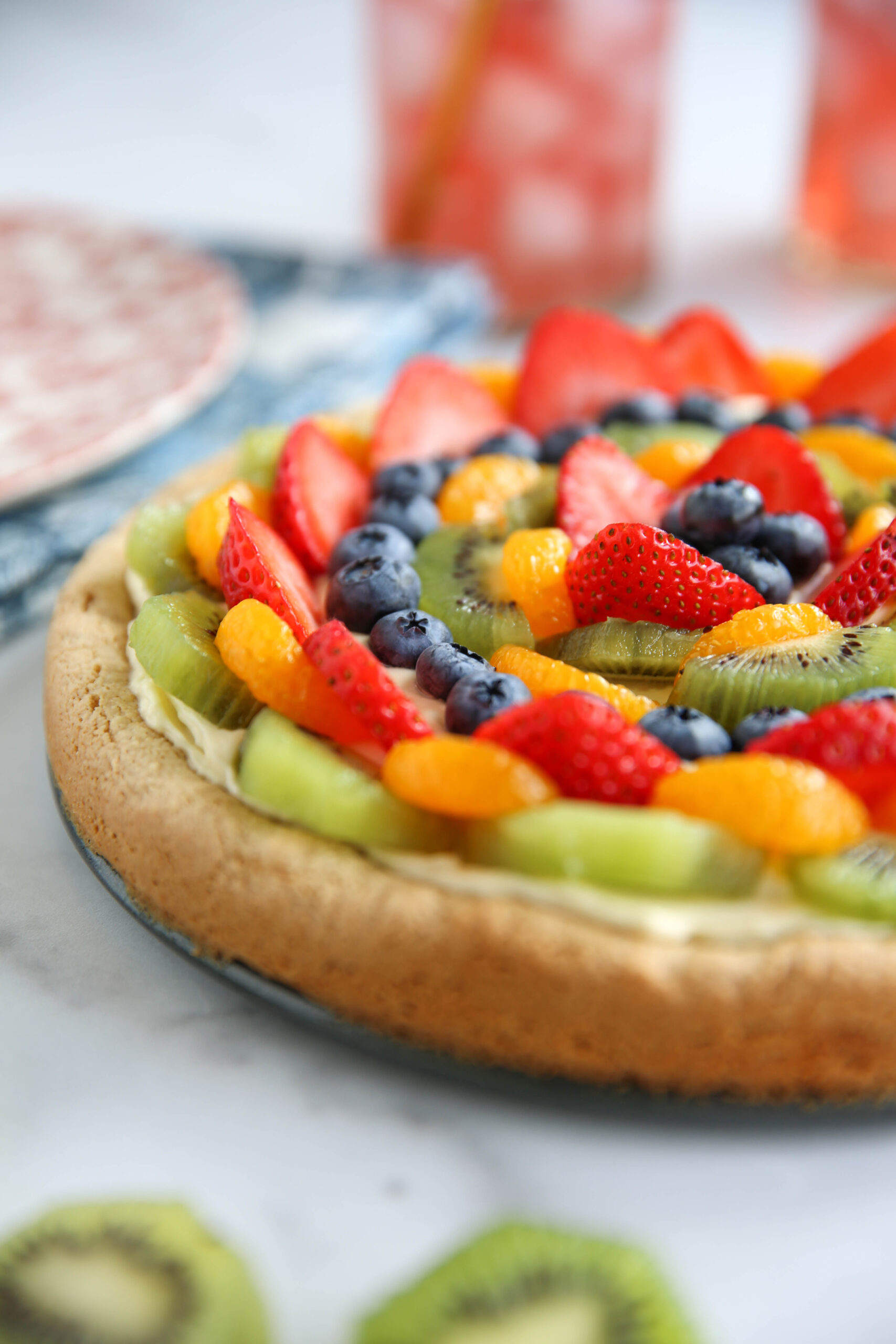 PaleOMG Fruit Pizza