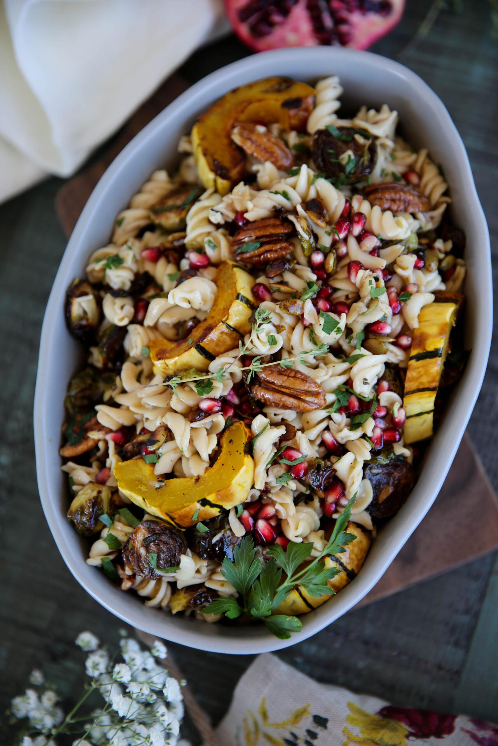 PaleOMG Fall Pasta Salad