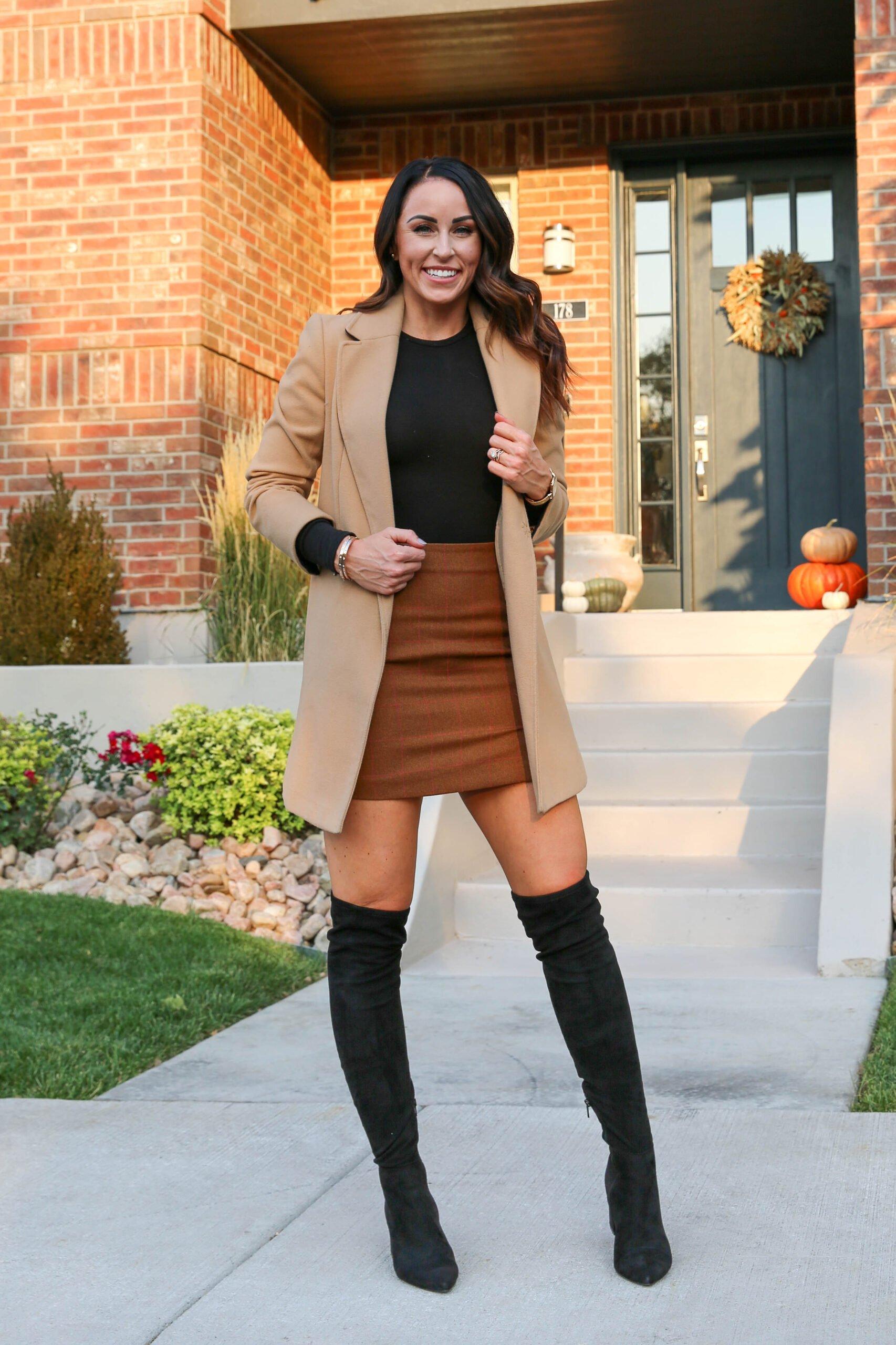 PaleOMG Fall Skirts & Camel Coats