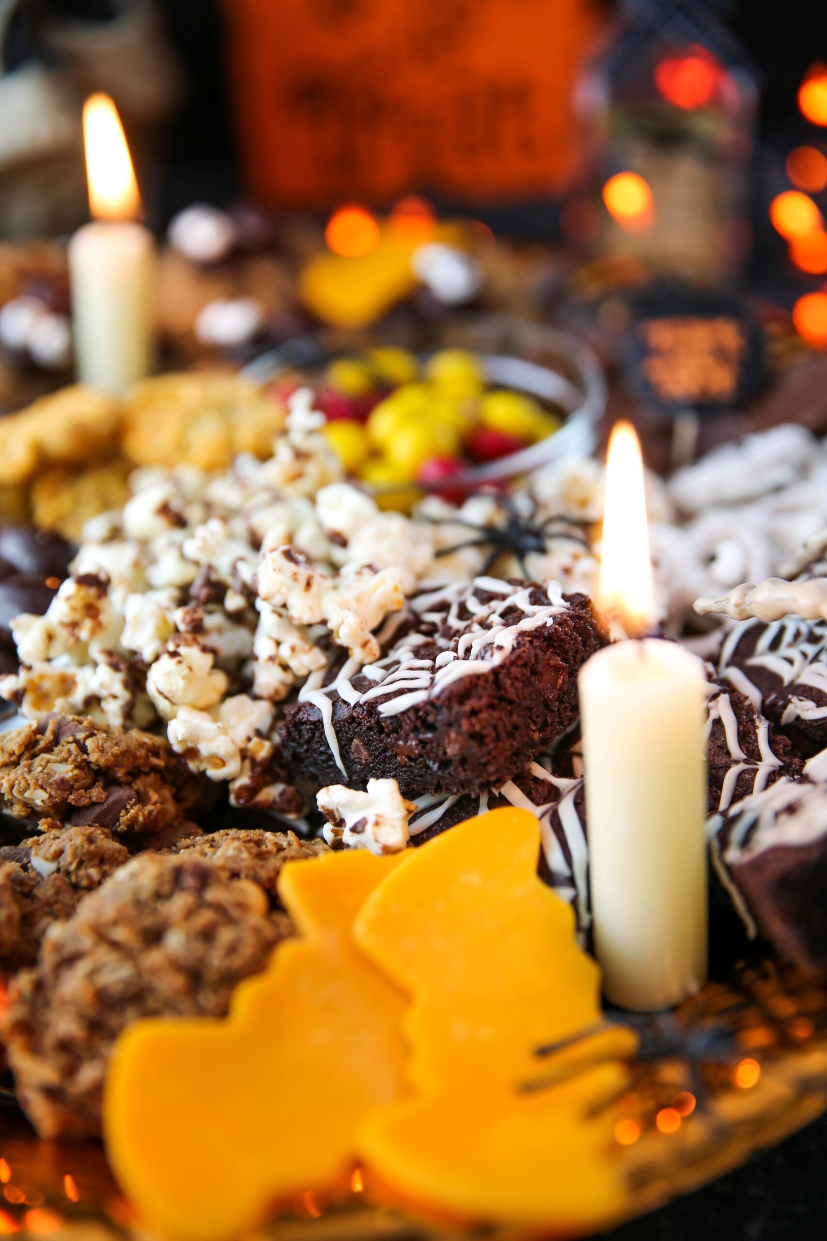 PaleOMG Halloween Charcuterie Board