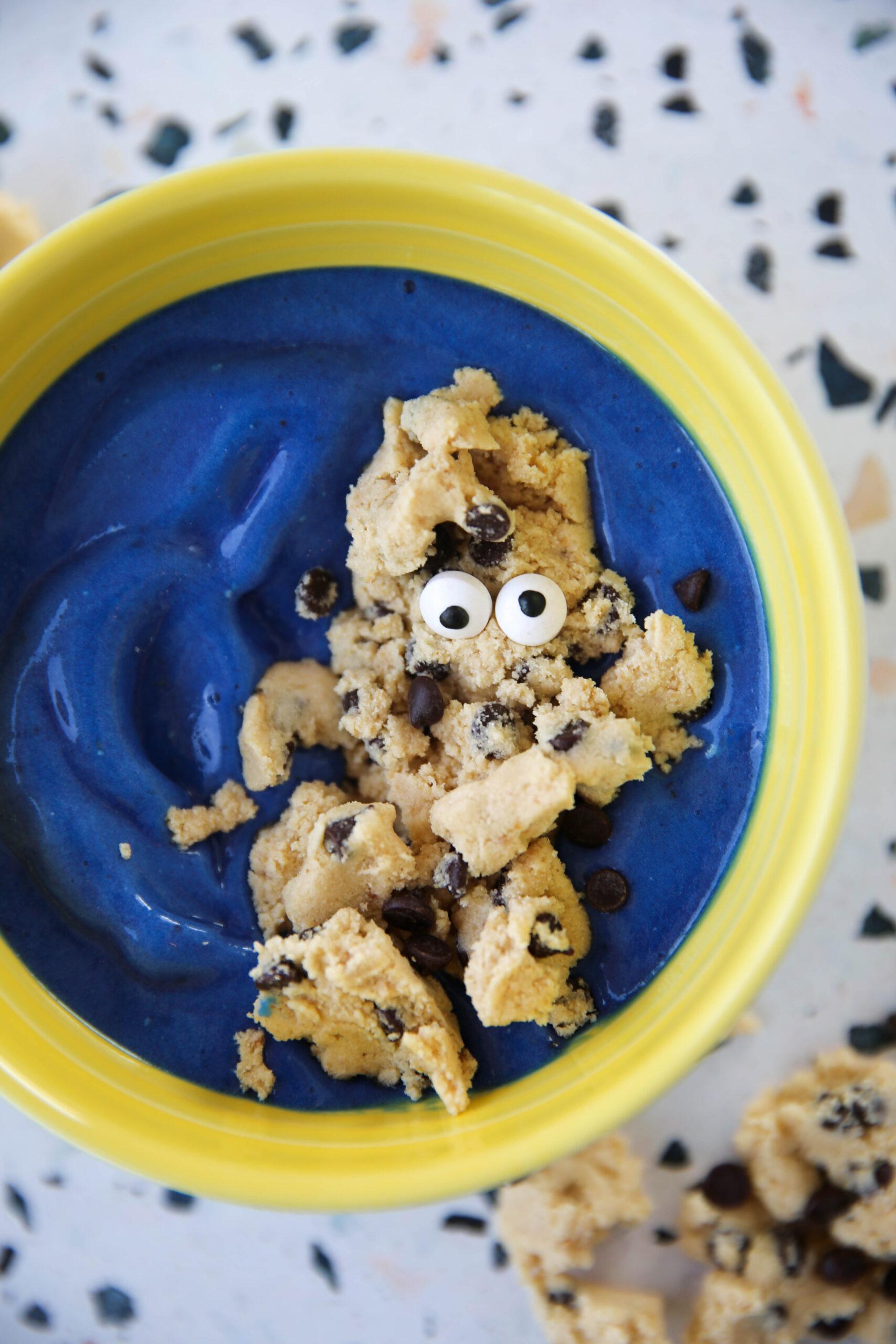 PaleOMG Cookie Monster Nice Cream