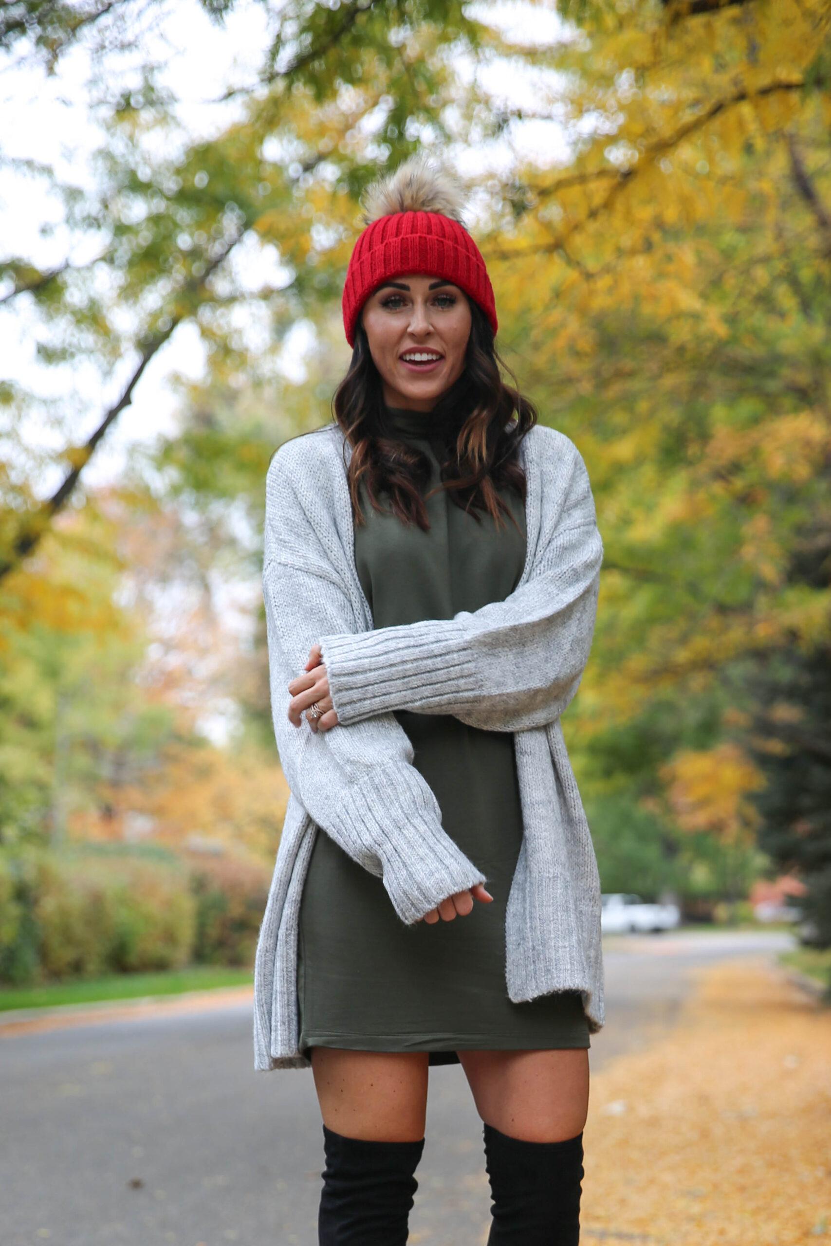 PaleOMG Belting Your Sweater Dress