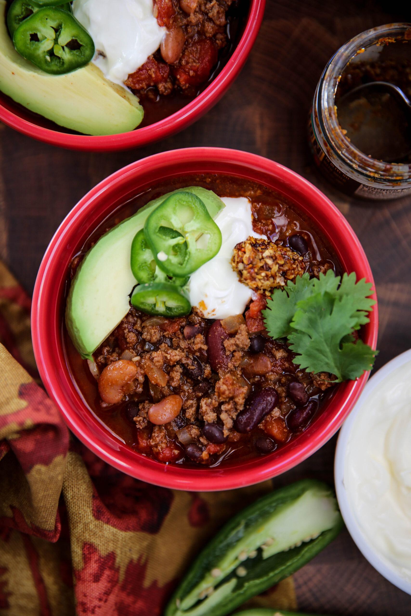 PaleOMG 3 Bean Chili