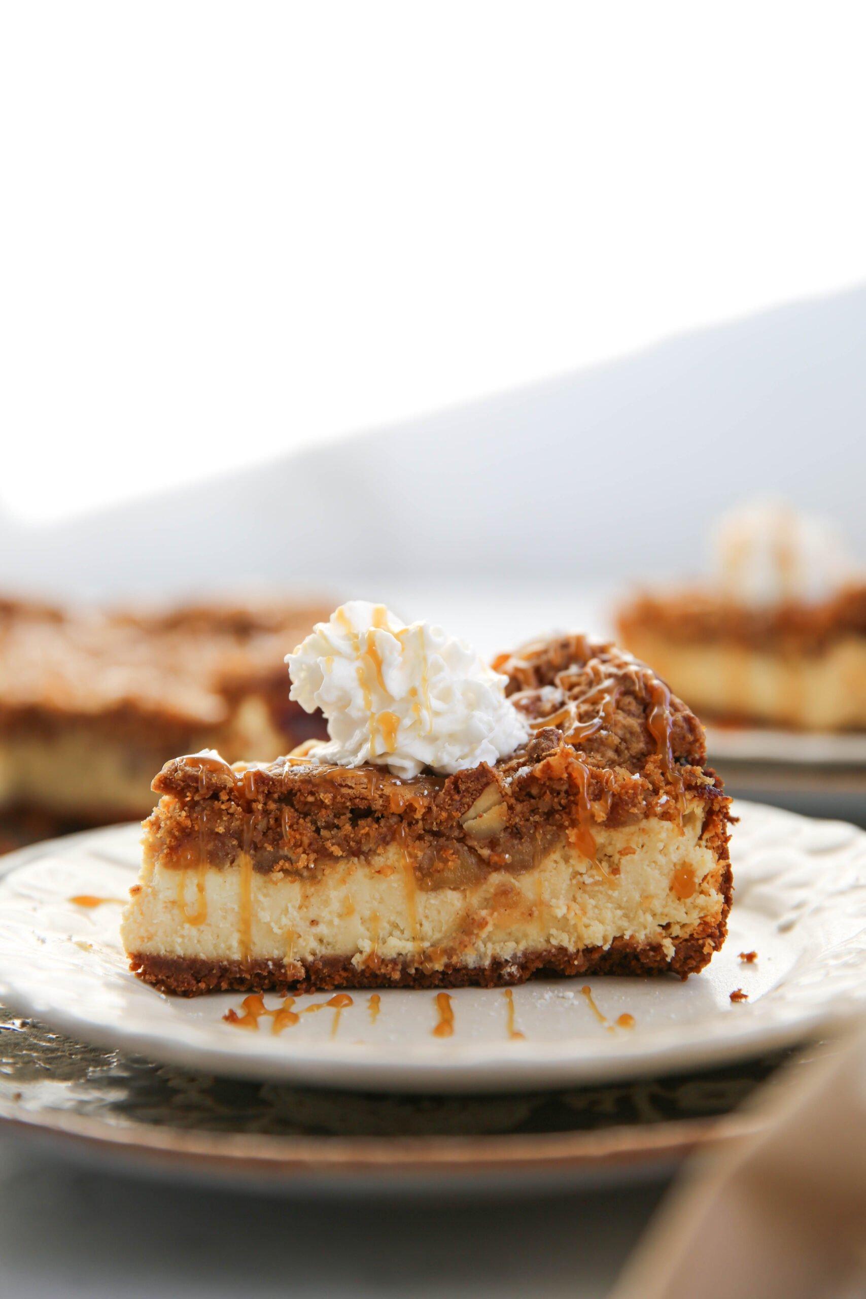 PaleOMG Apple Crumb Cheesecake