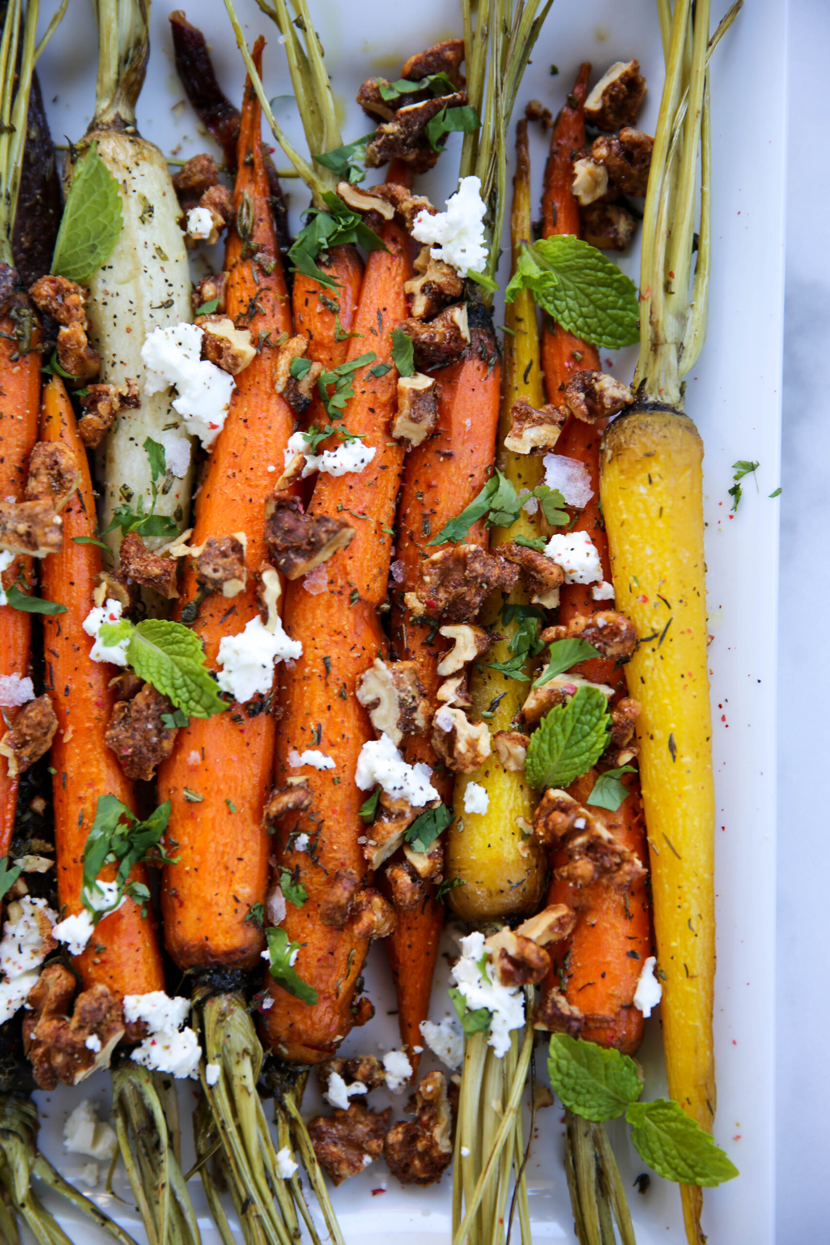 PaleOMG Roasted Carrots with Candied Walnuts