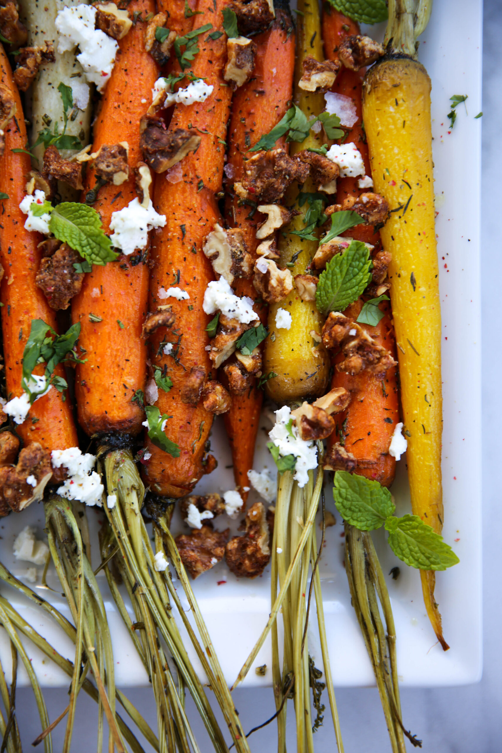 PaleOMG Roasted Carrots w/ Candied Walnuts