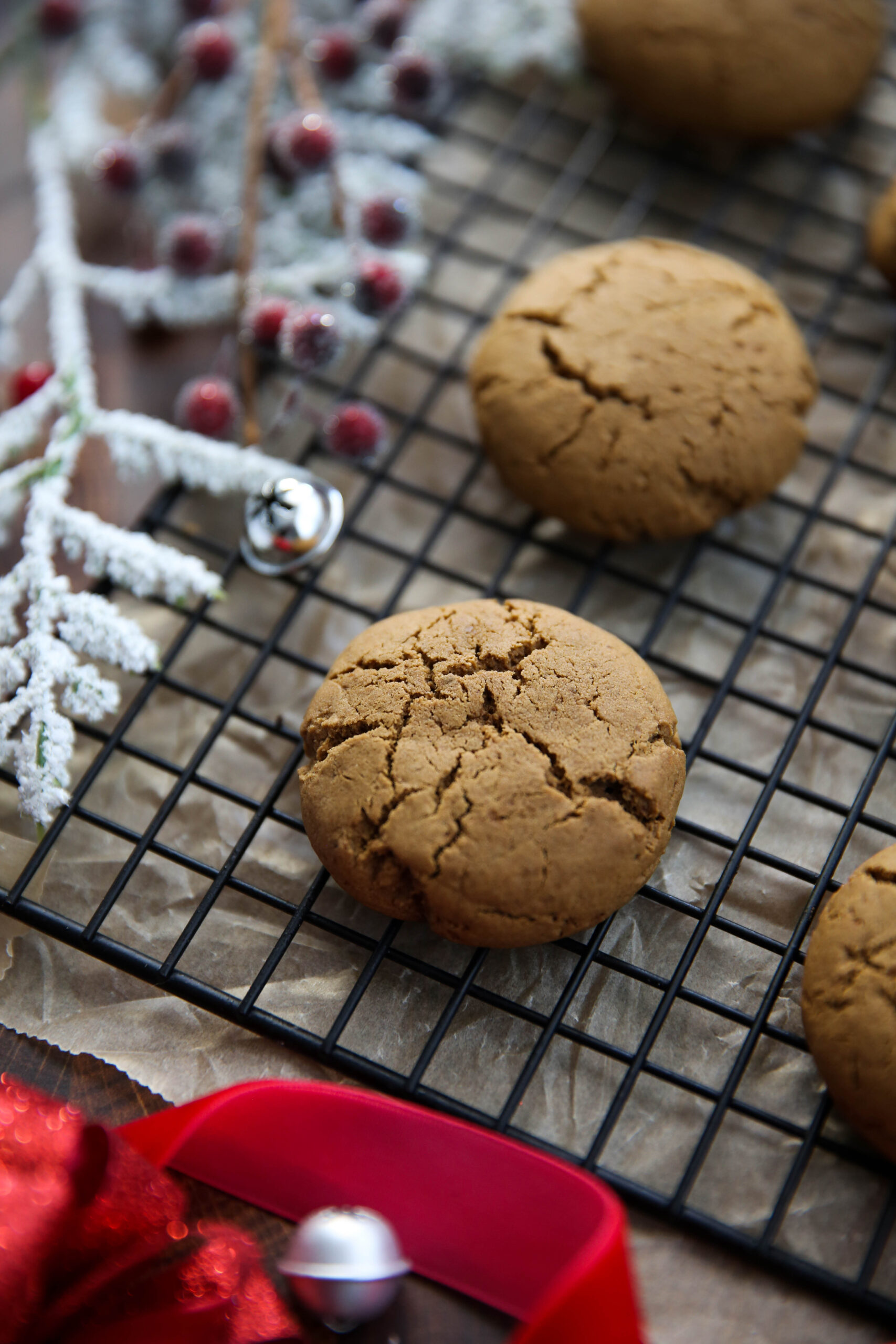PaleOMG Soft Baked Gingerbread Cookies