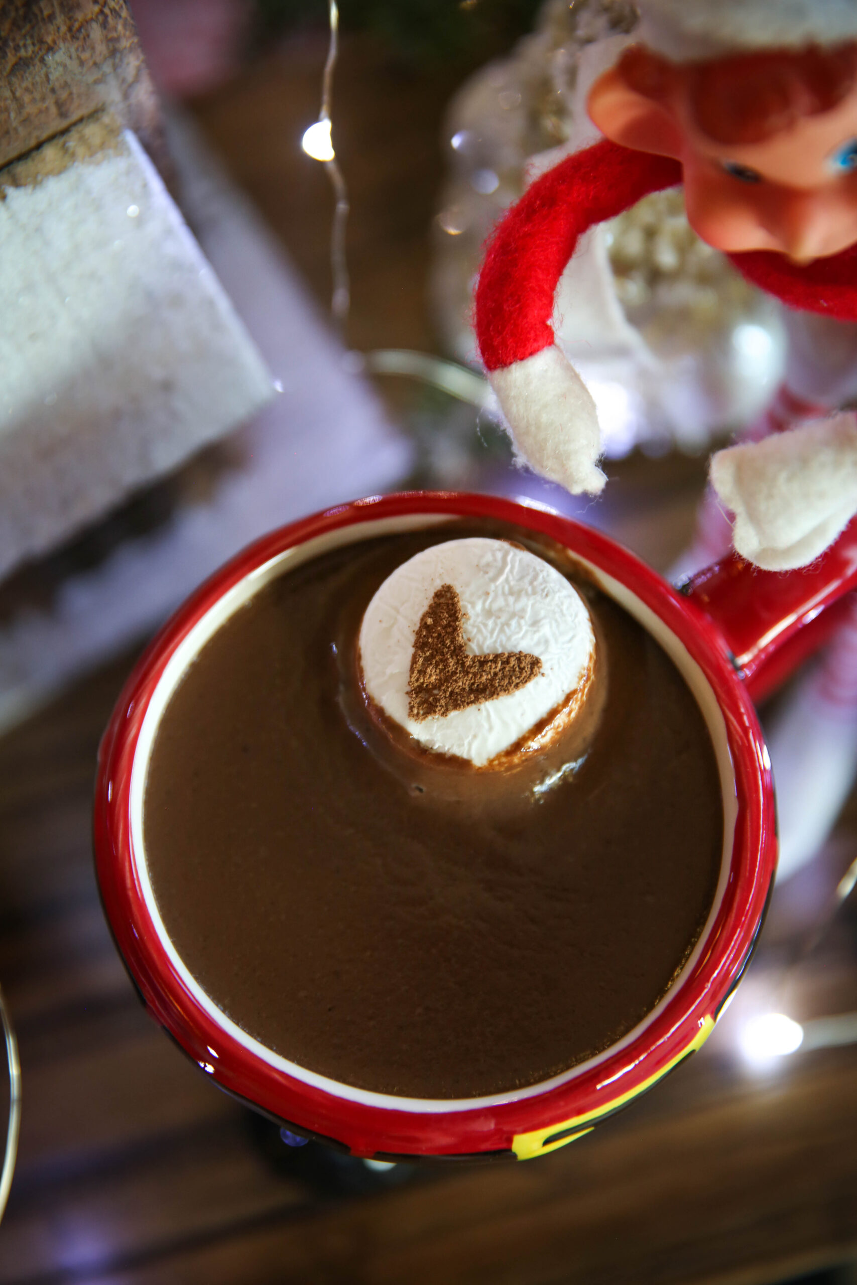 PaleOMG Crockpot Hot Chocolate