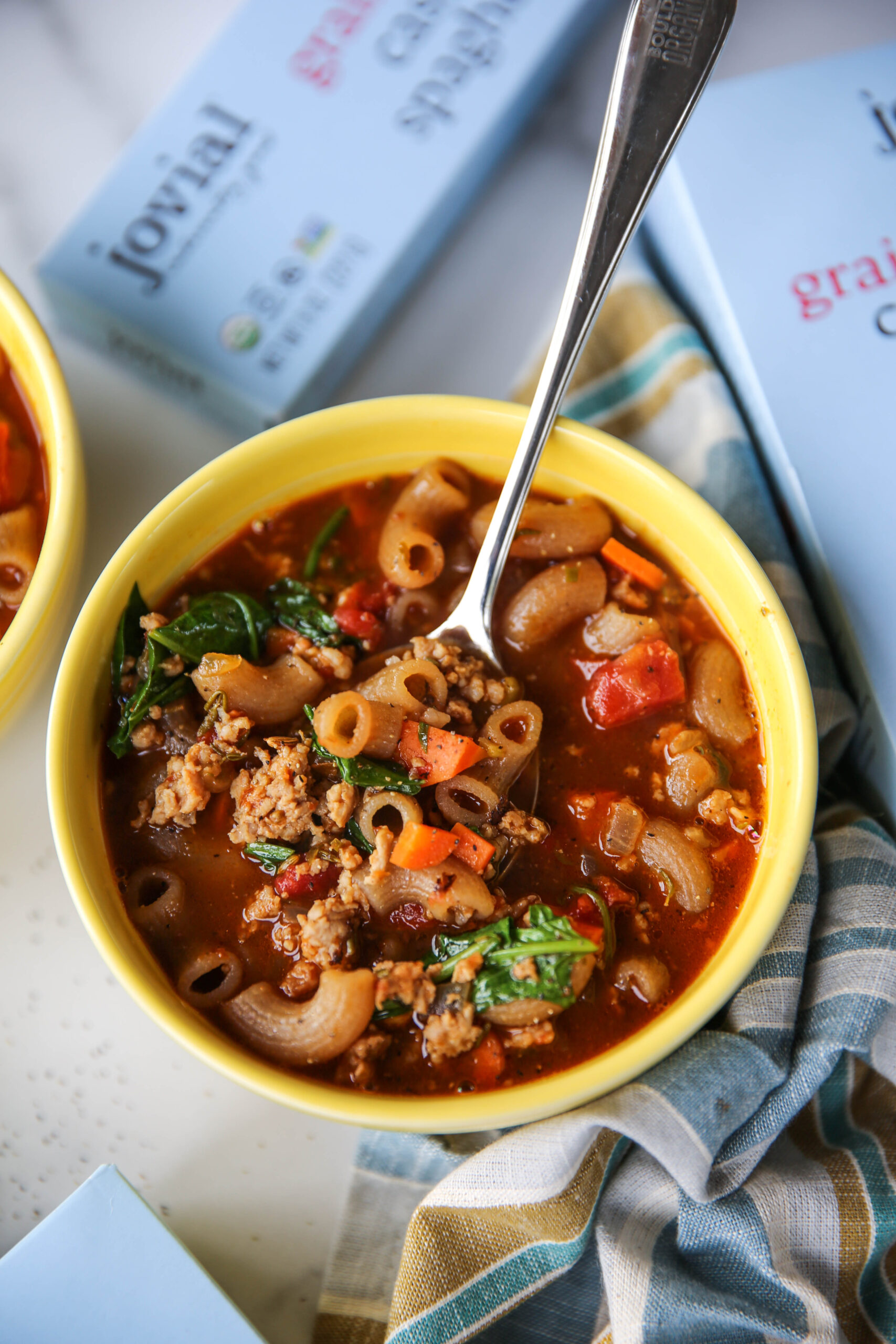 PaleOMG Italian Pasta Soup