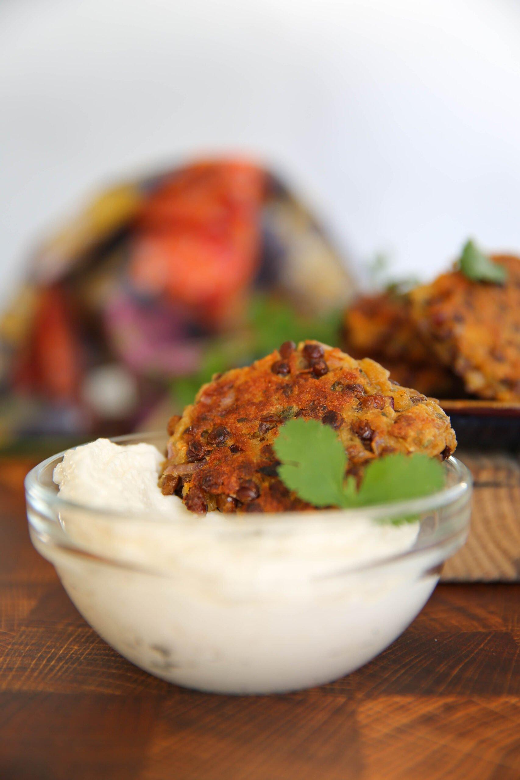 PaleOMG Lentil Fritters