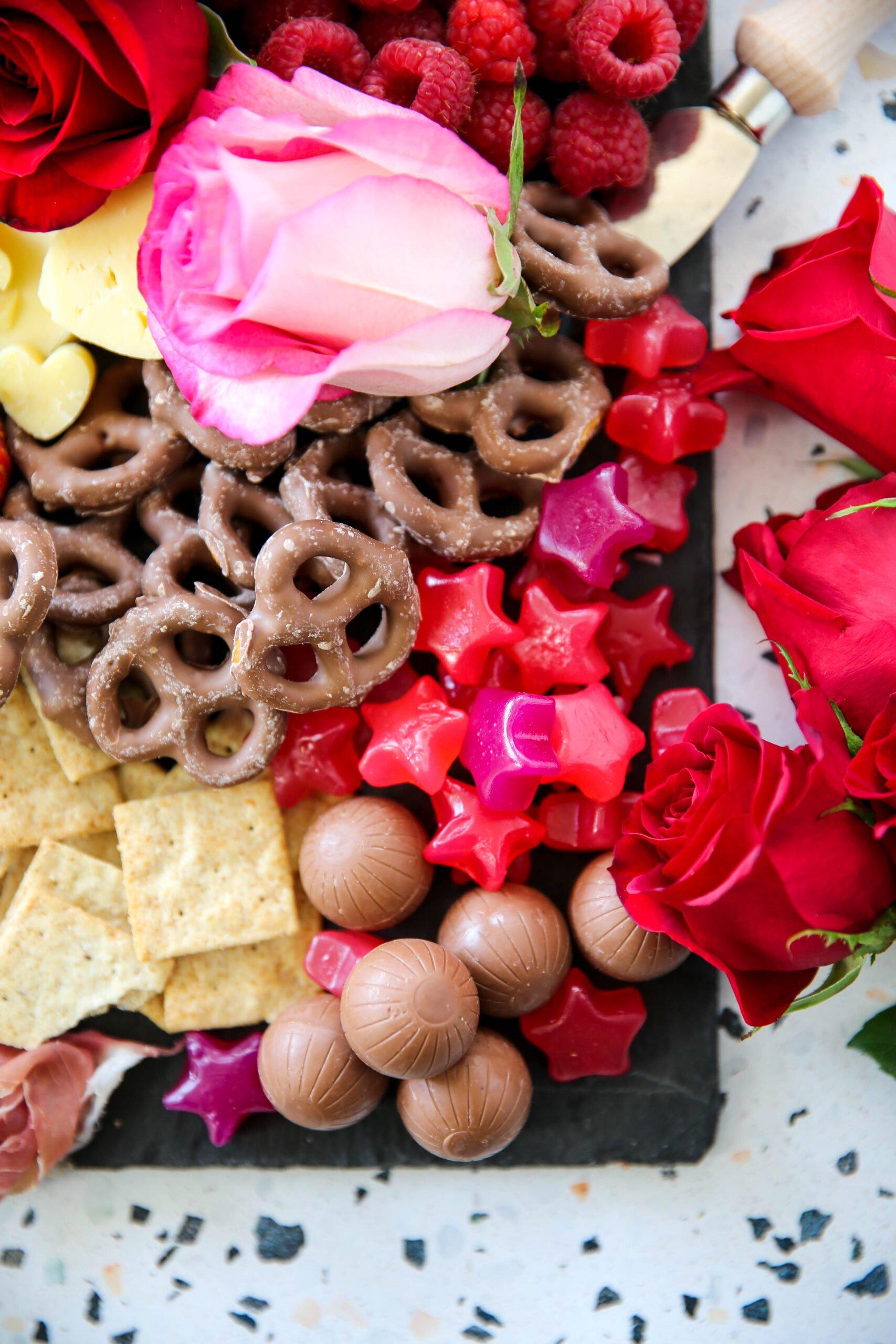 PaleOMG Valentine's Day Charcuterie Board