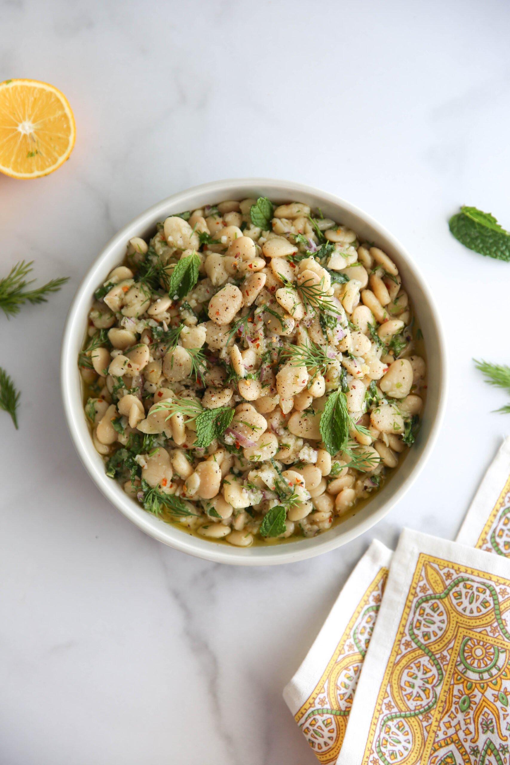 PaleOMG Marinated Butter Beans