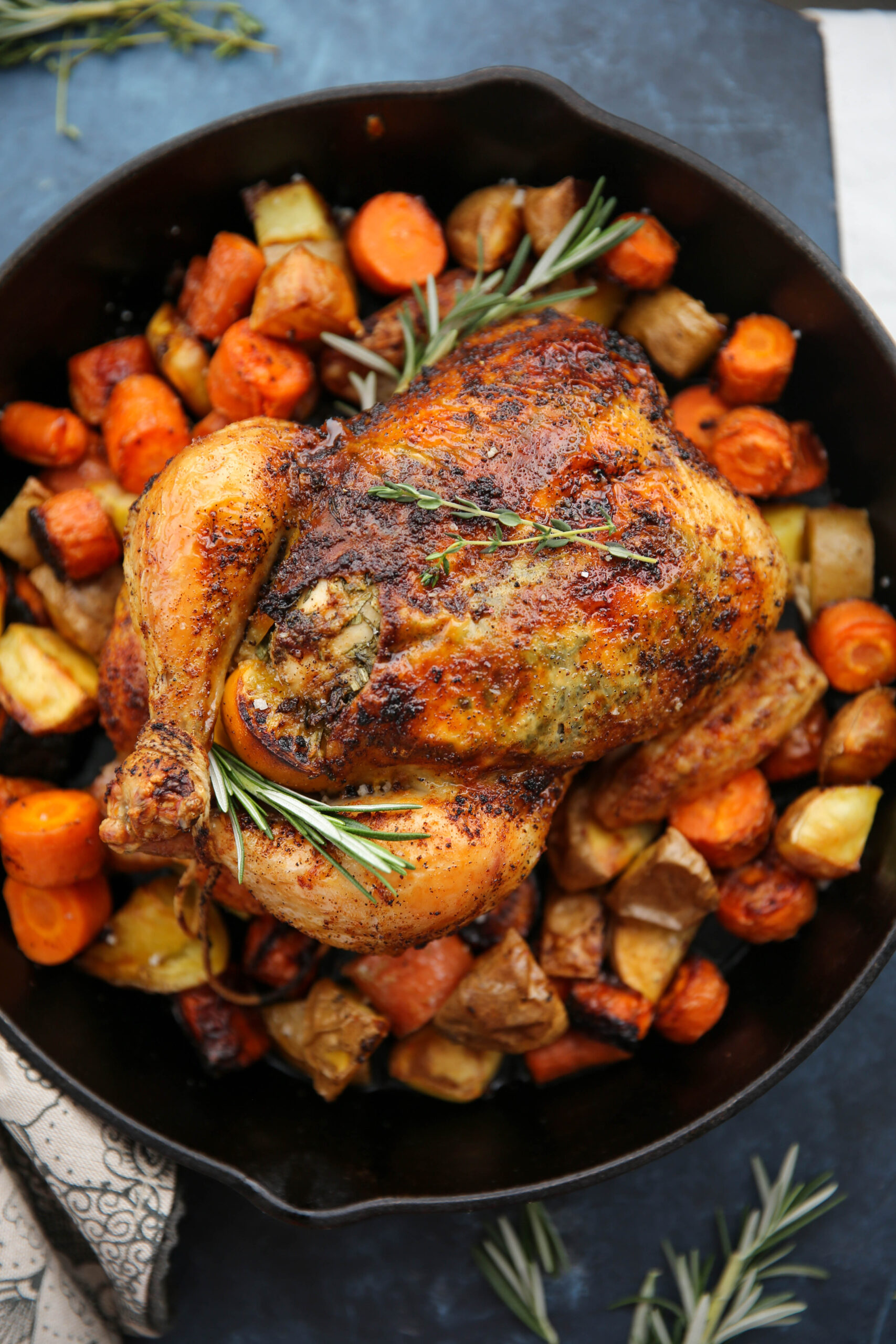 PaleOMG Roasted Whole Chicken