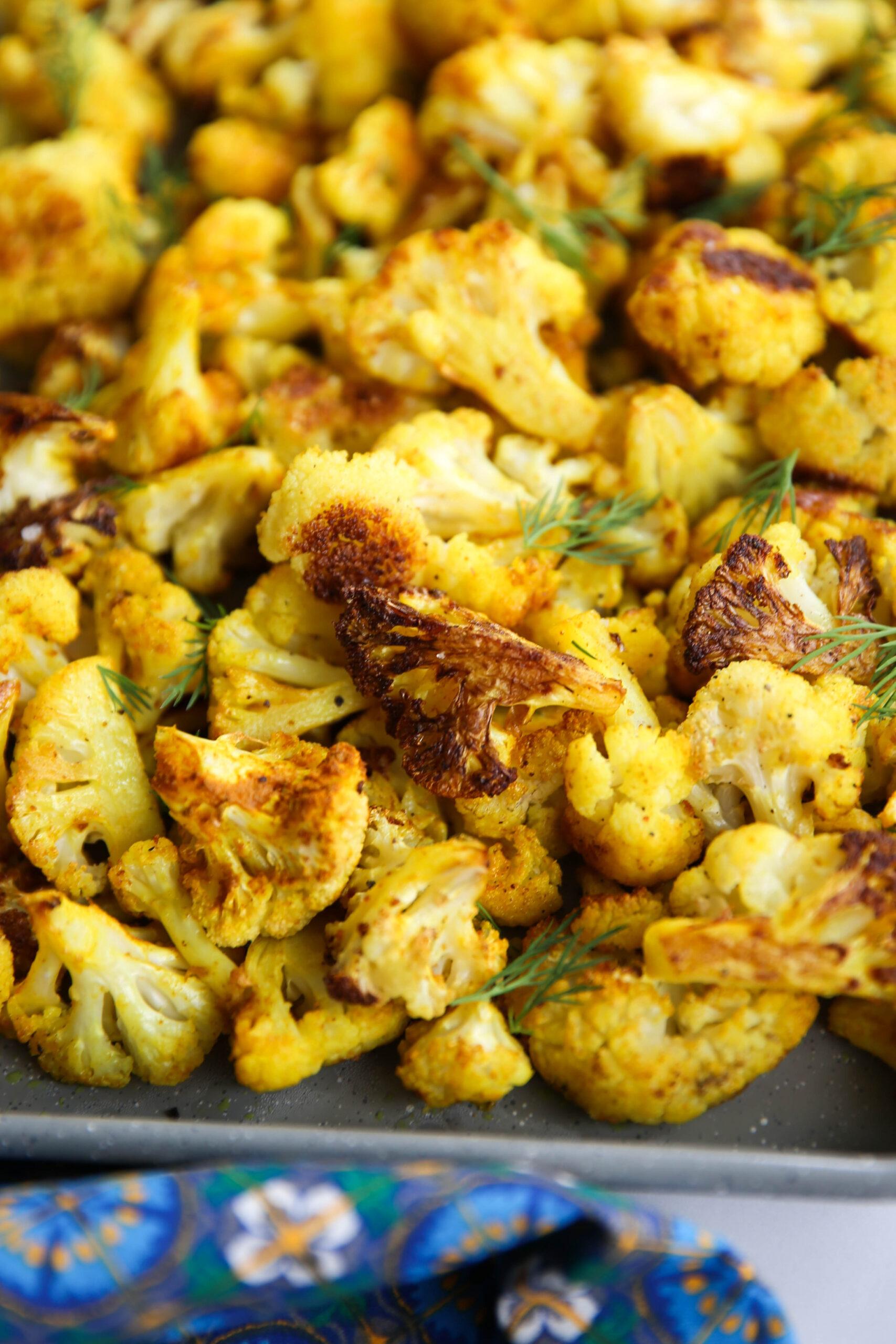 PaleOMG Back to Basics: Roasted Cauliflower