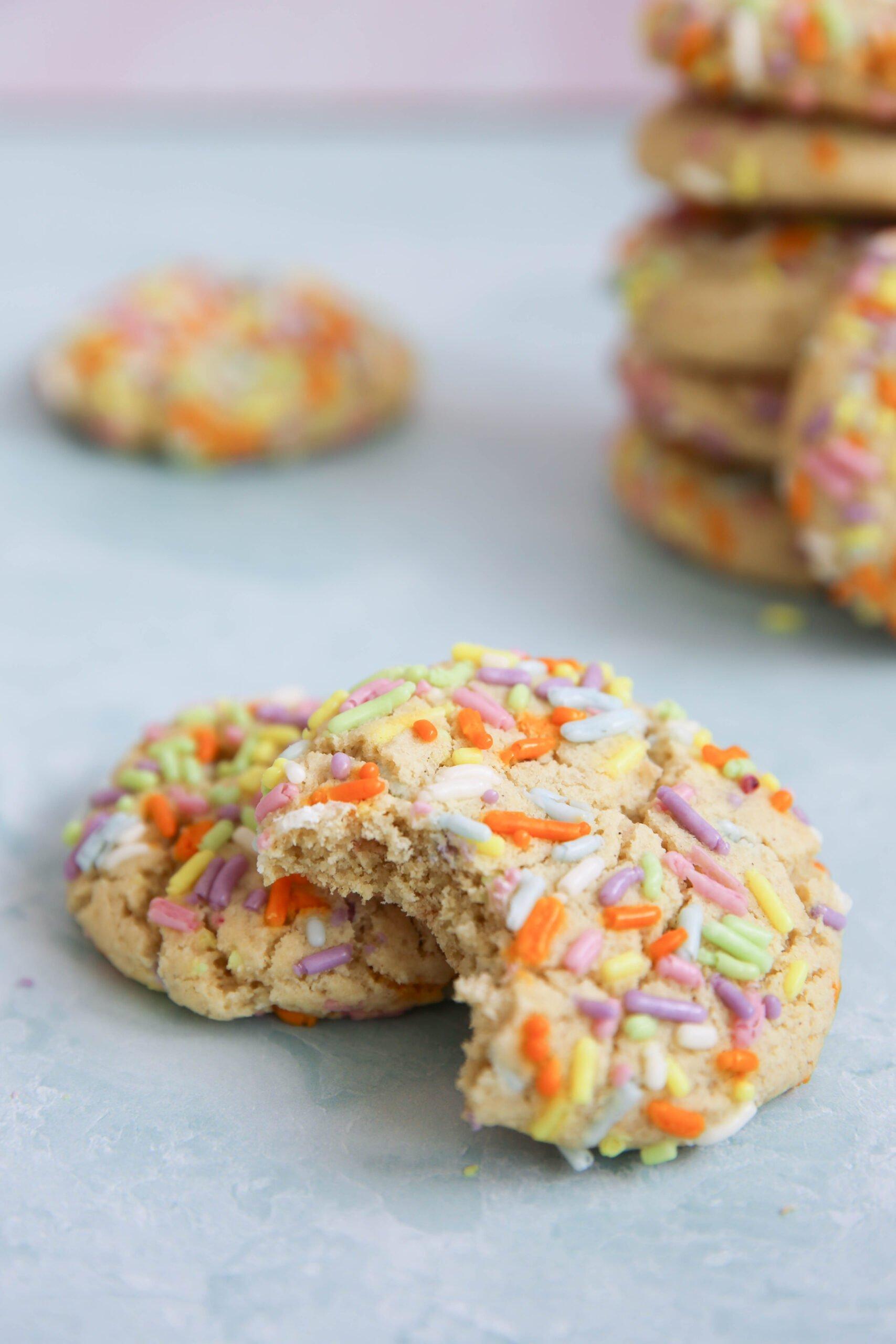 PaleOMG Birthday Cookies