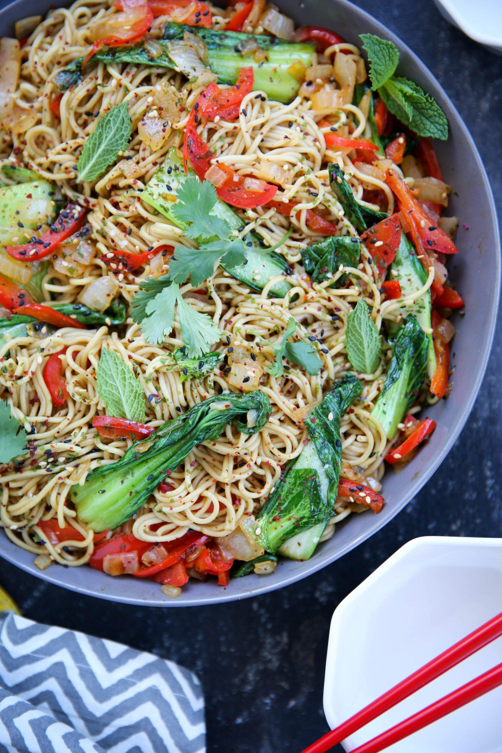 PaleOMG Easy Asian Stir-Fry Noodles