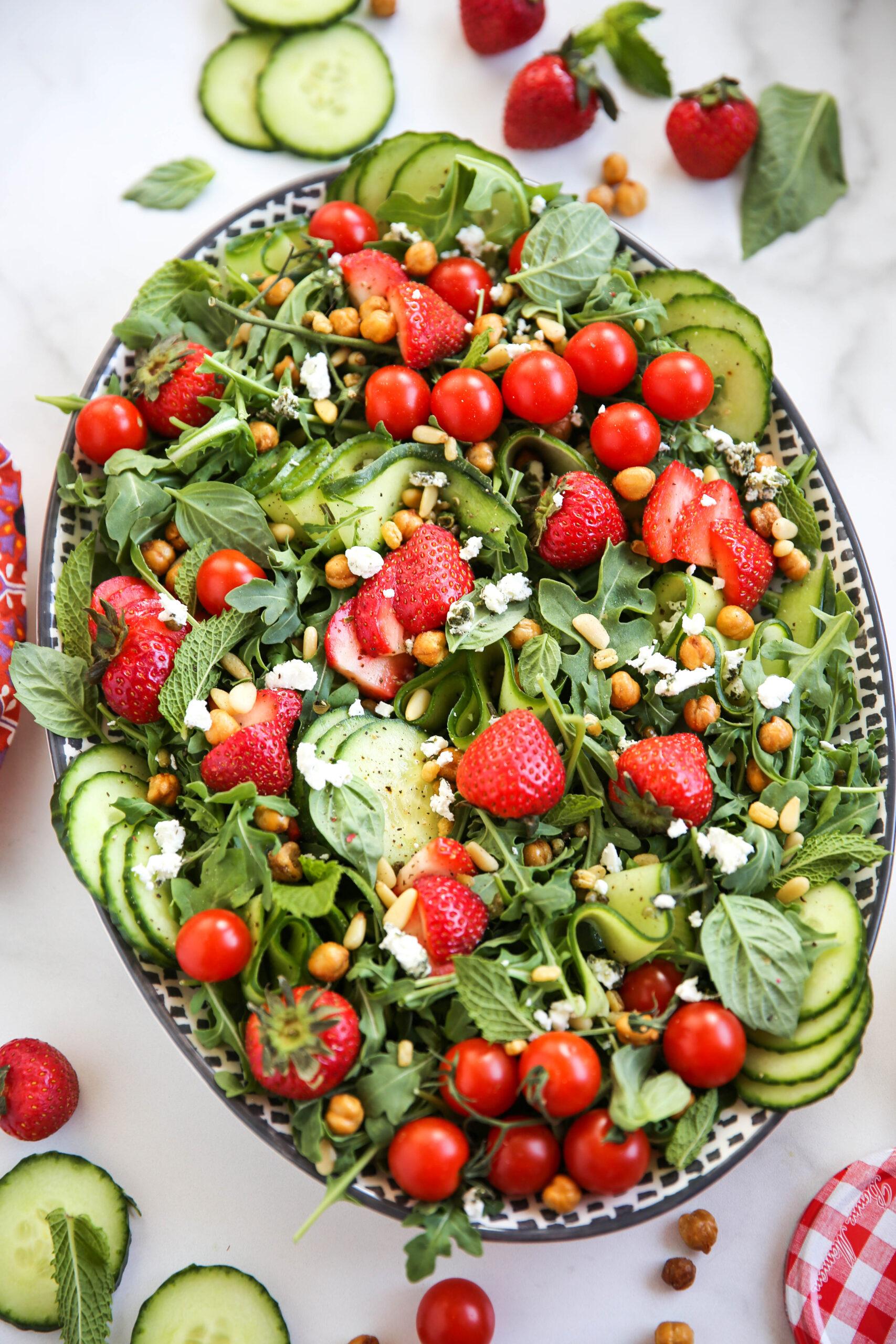 PaleOMG Strawberry Summer Salad