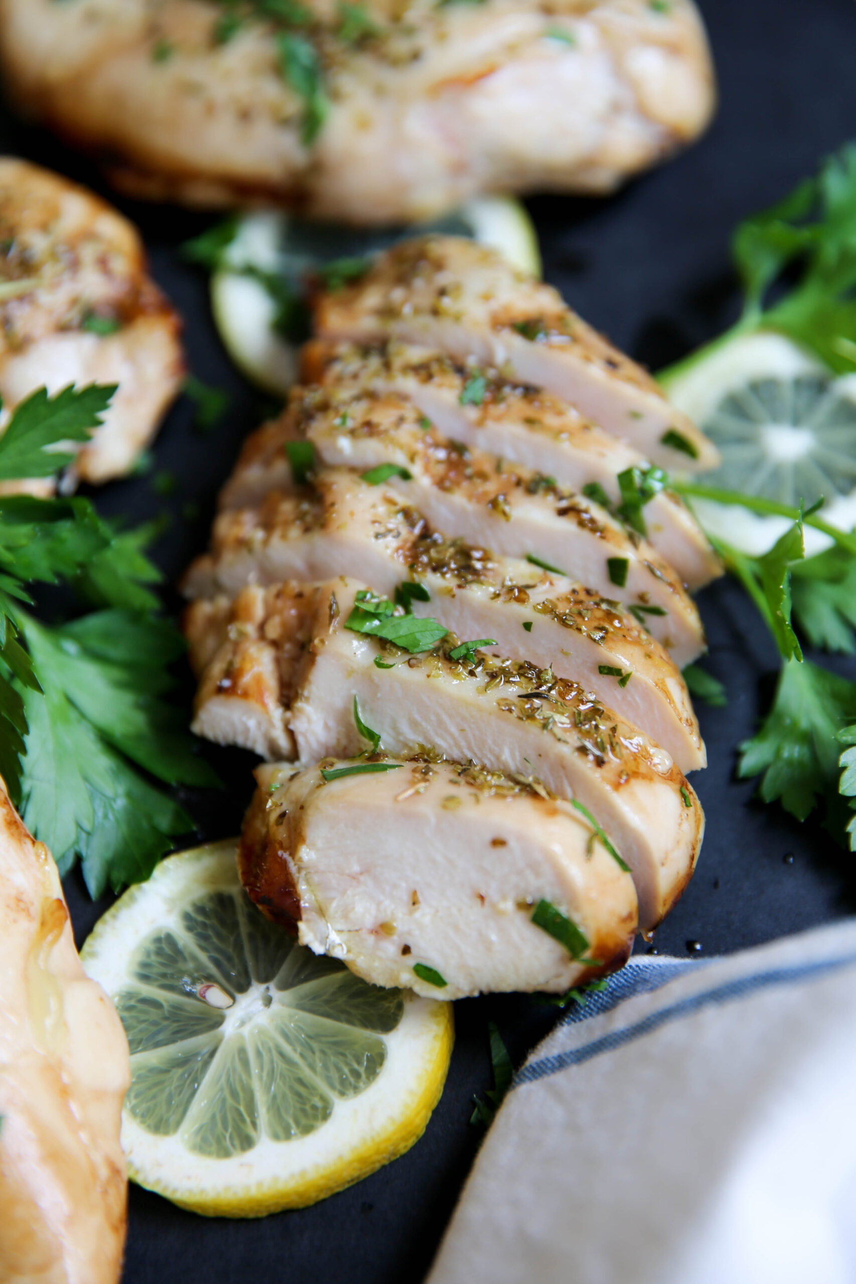 PaleOMG Marinated Chicken Breasts - Cooked Two Ways
