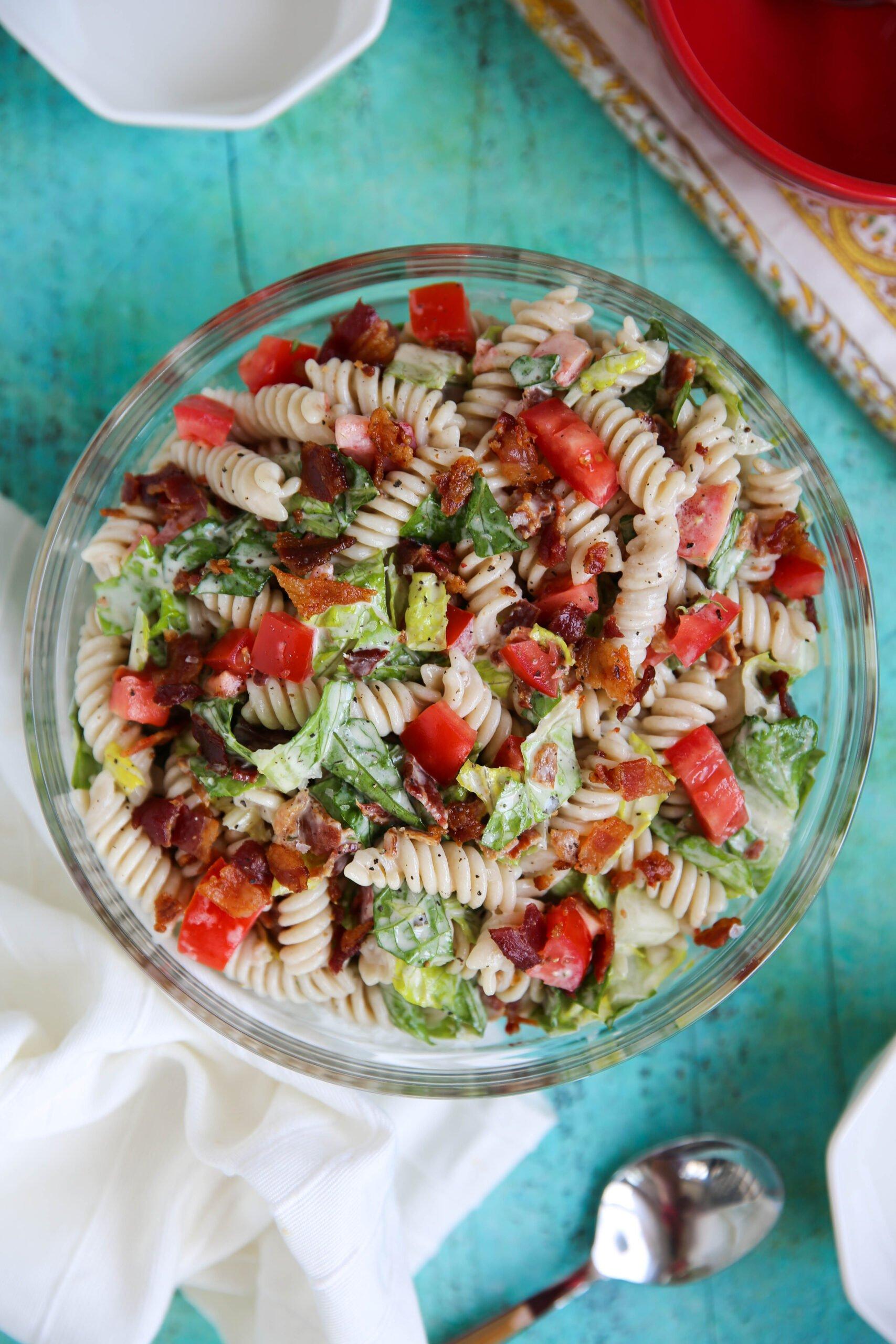 PaleOMG BLT Pasta Salad