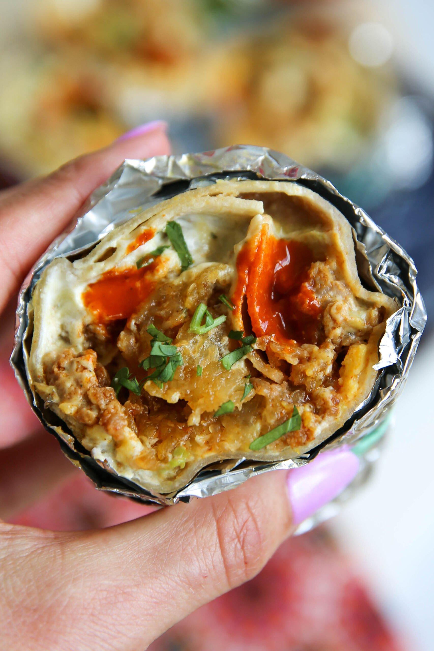 PaleOMG Breakfast Burritos