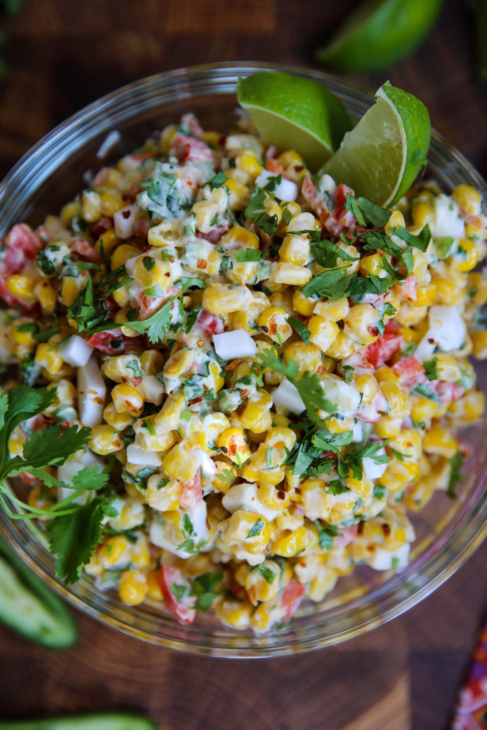 PaleOMG Lightened Up Mexican Corn Salad