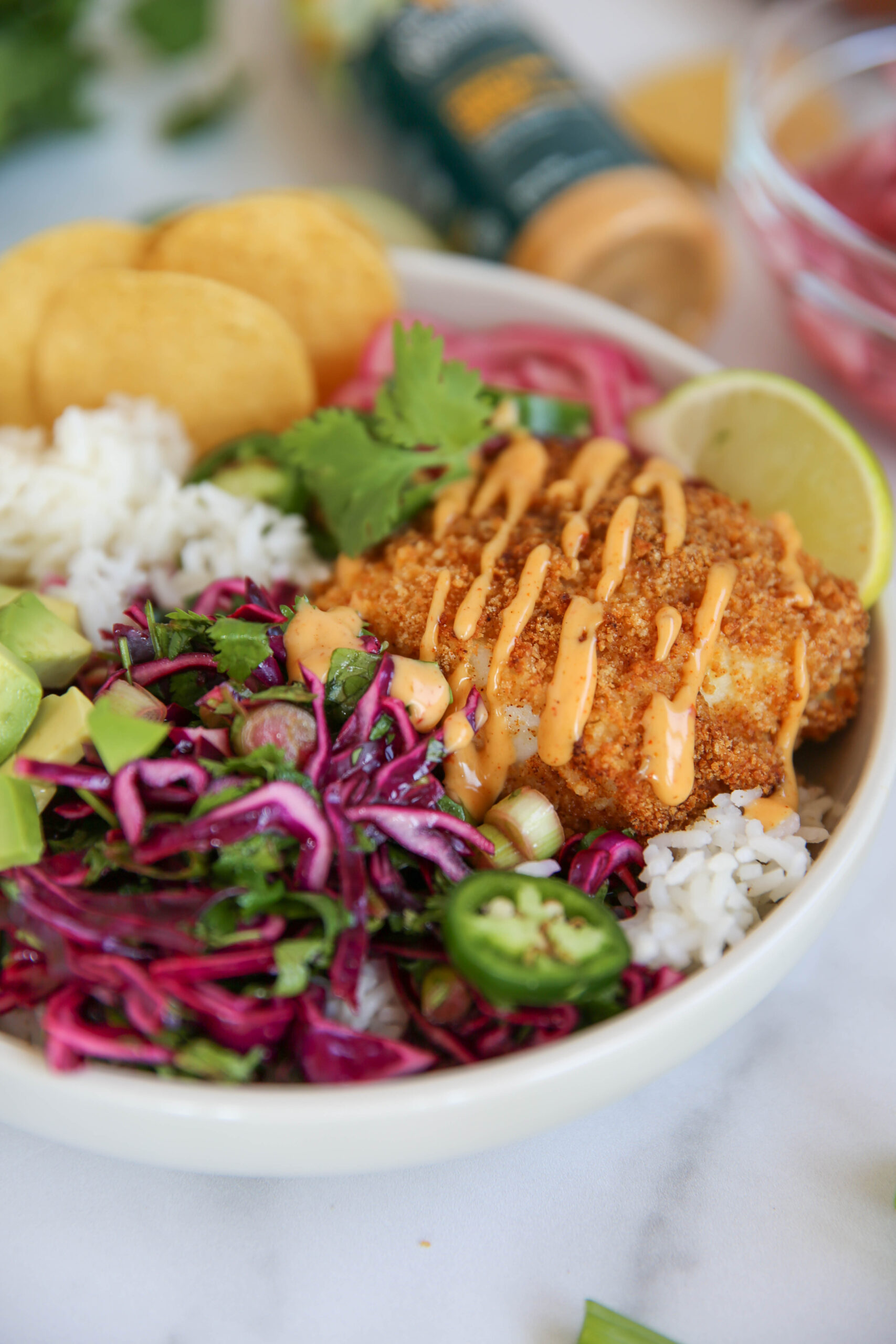 PaleOMG Fish Taco Bowls