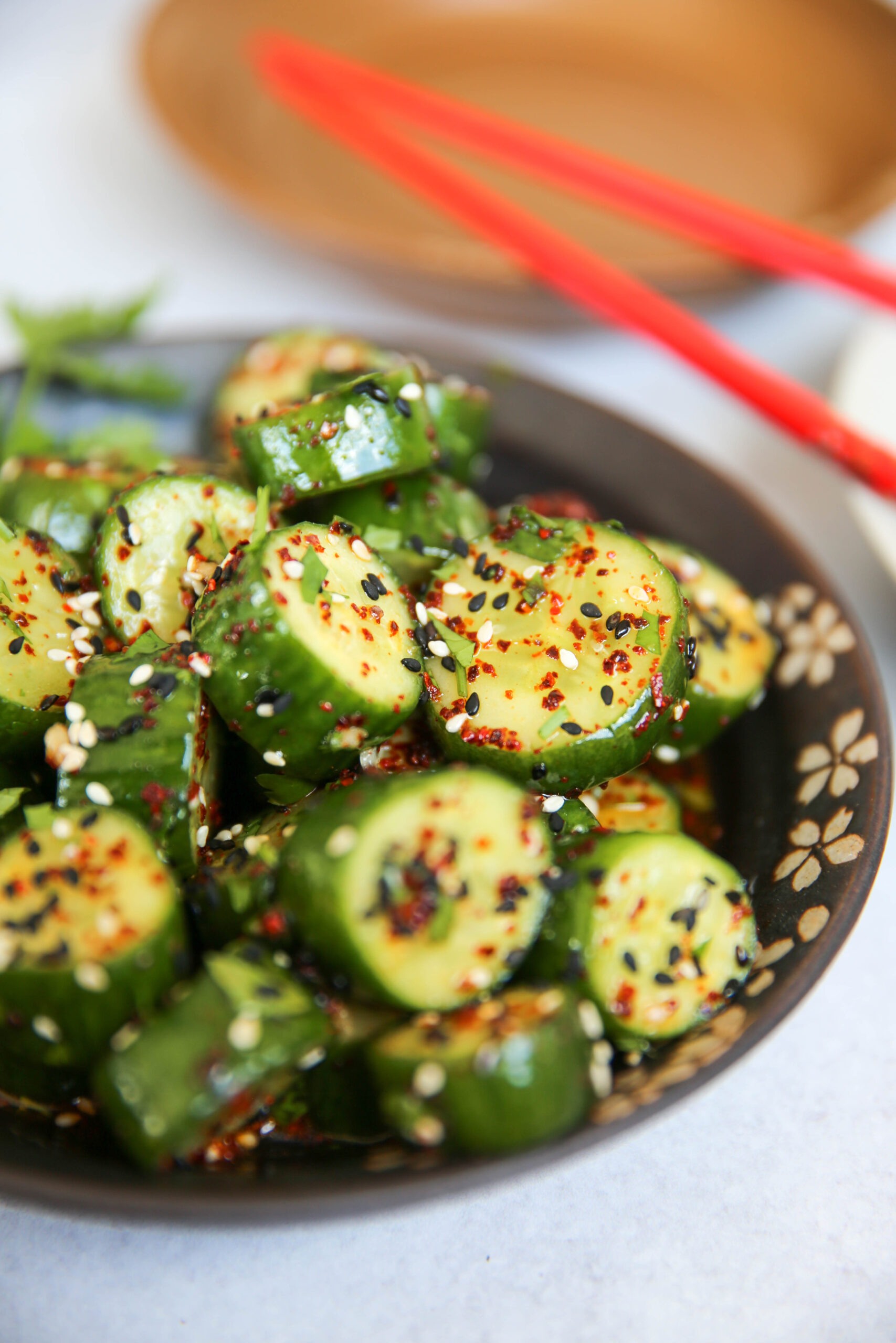 PaleOMG Asian Cucumber Salad