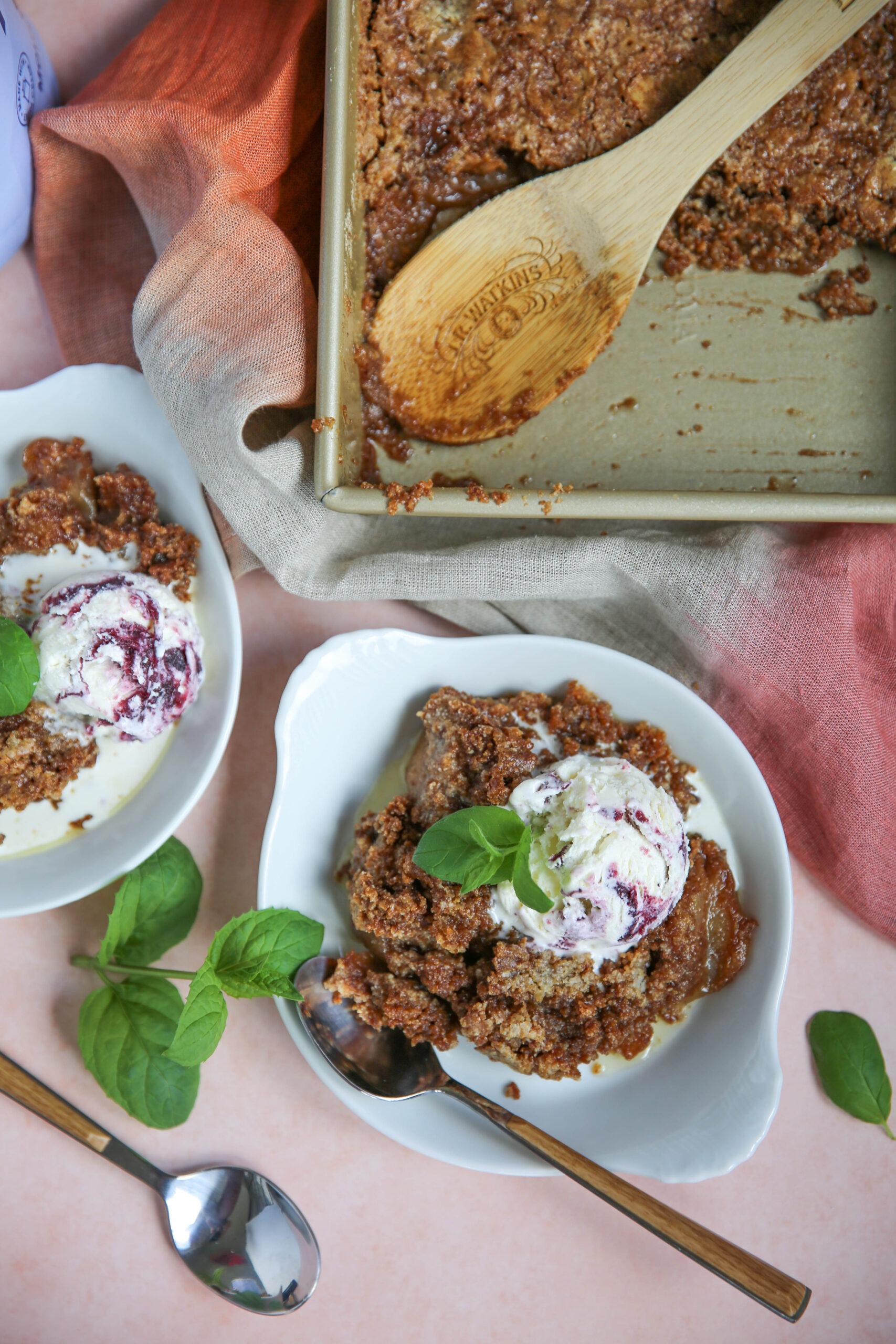 PaleOMG Gluten Free Apple Dump Cake