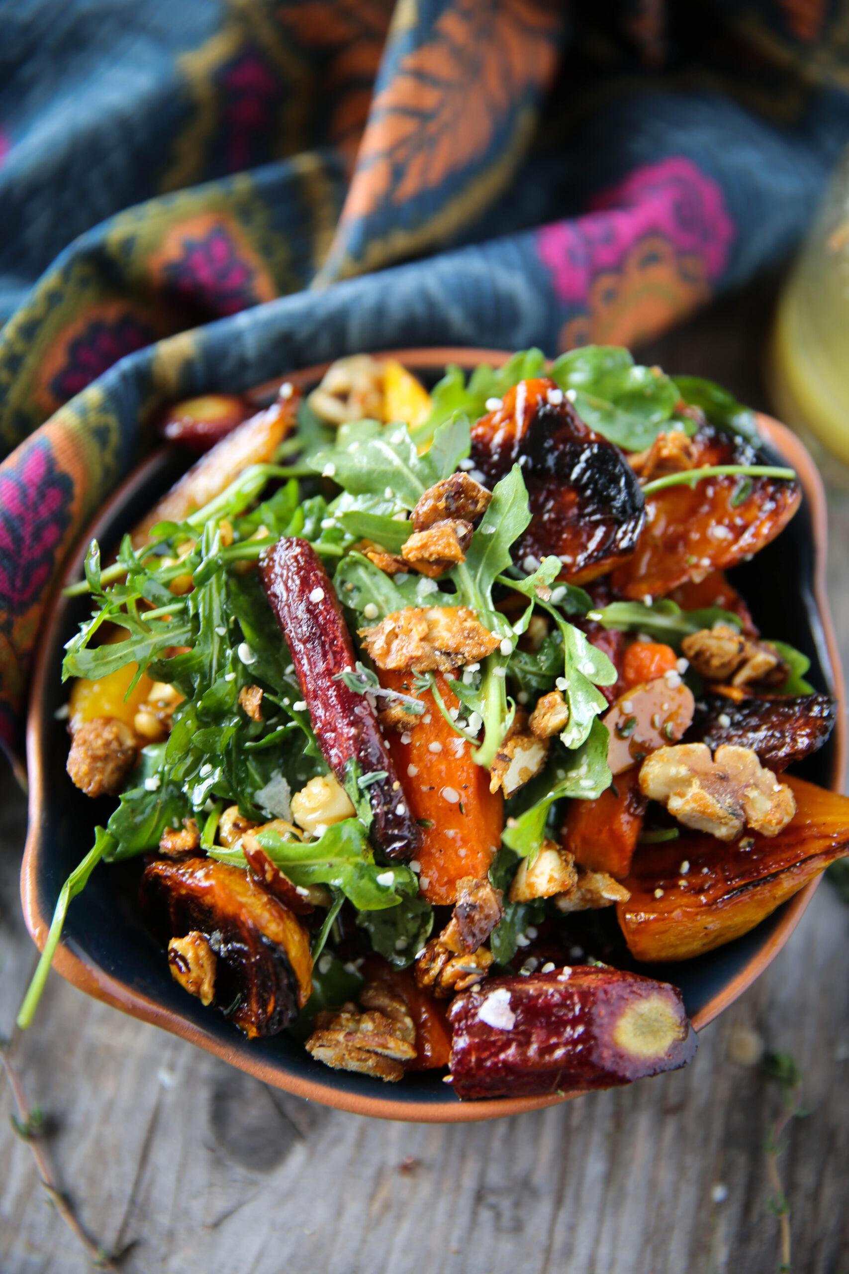 PaleOMG Carrots & Beet Salad