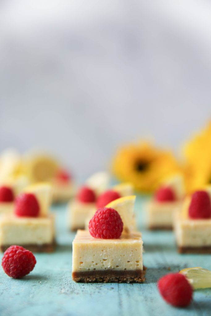 PaleOMG Lemon Cheesecake Bars