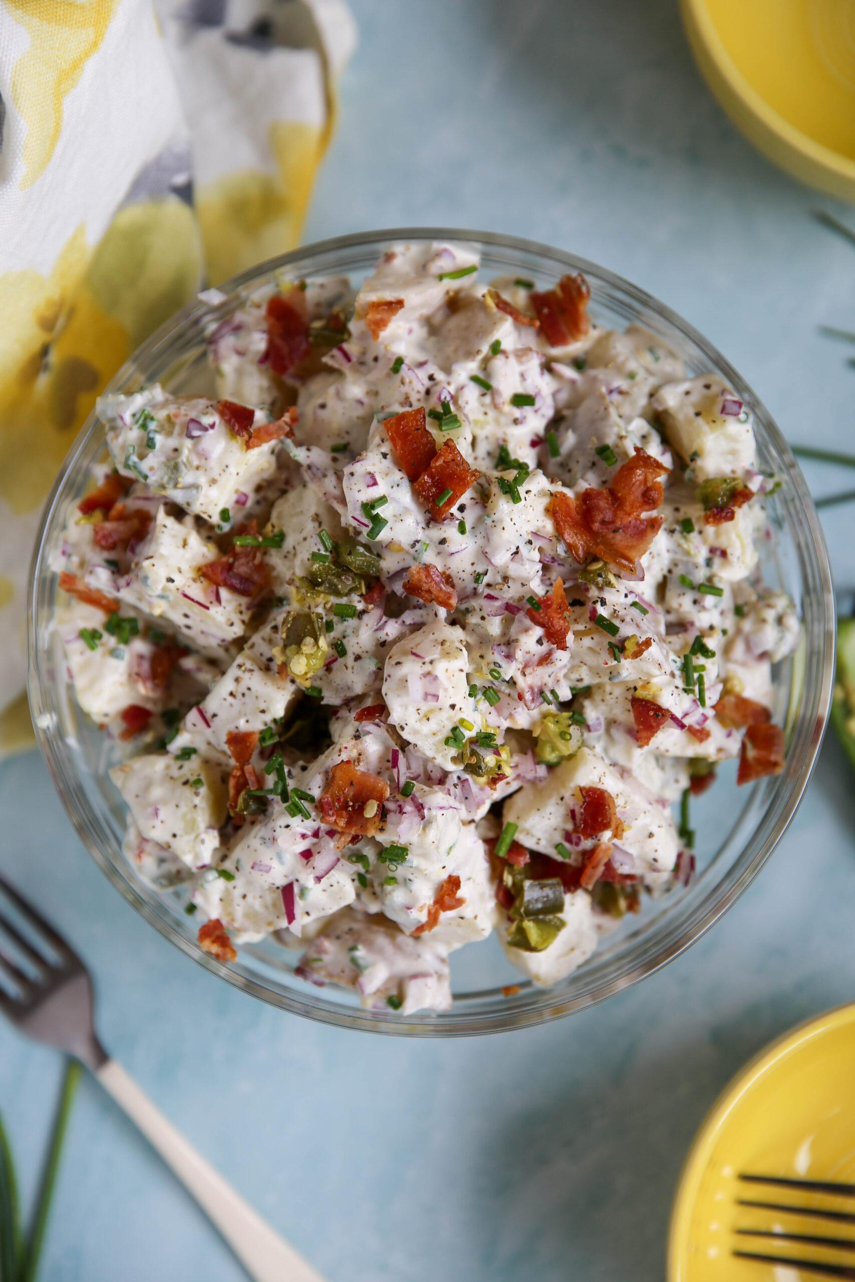 PaleOMG Jalapeño Popper Potato Salad