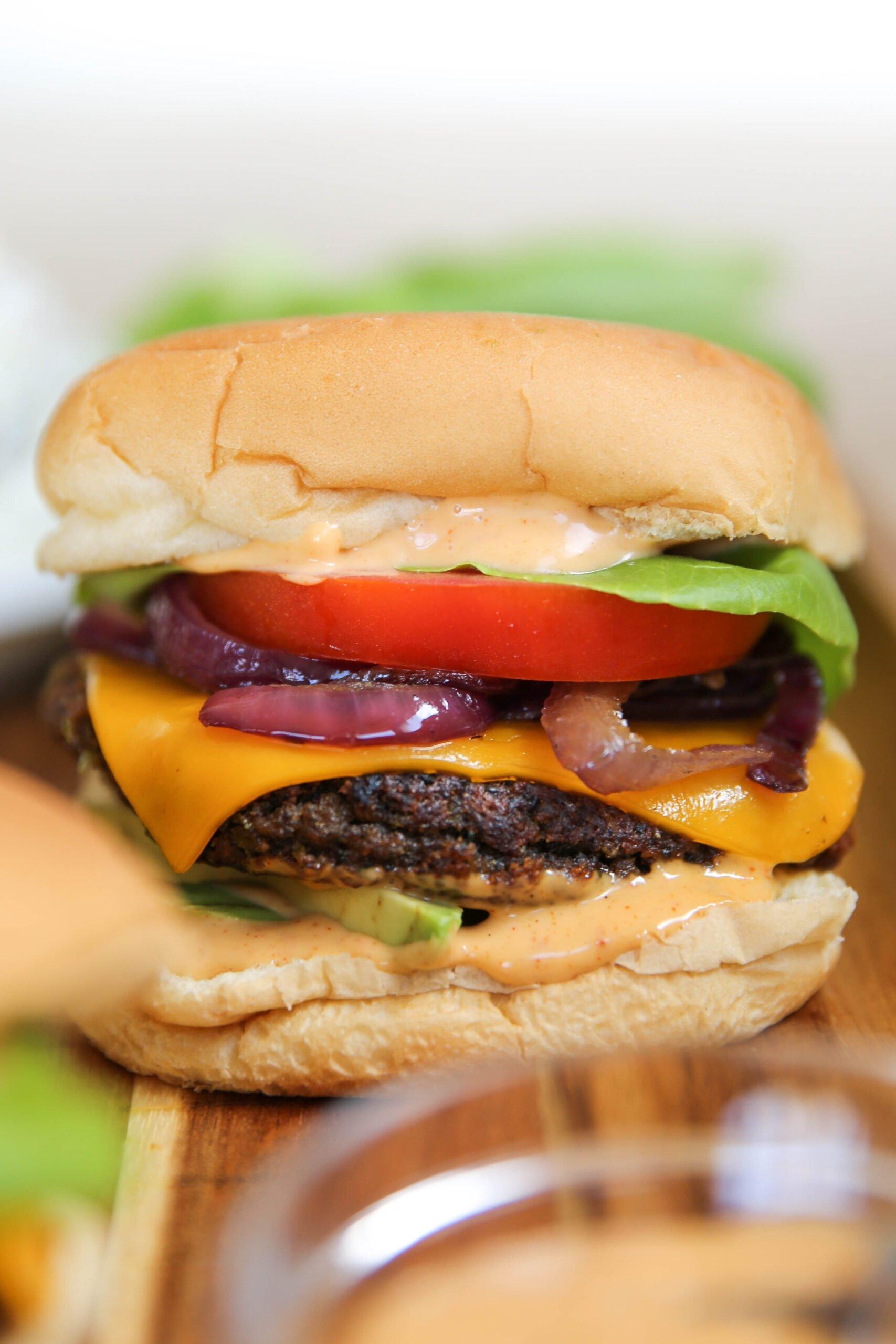 PaleOMG Black Bean Burgers
