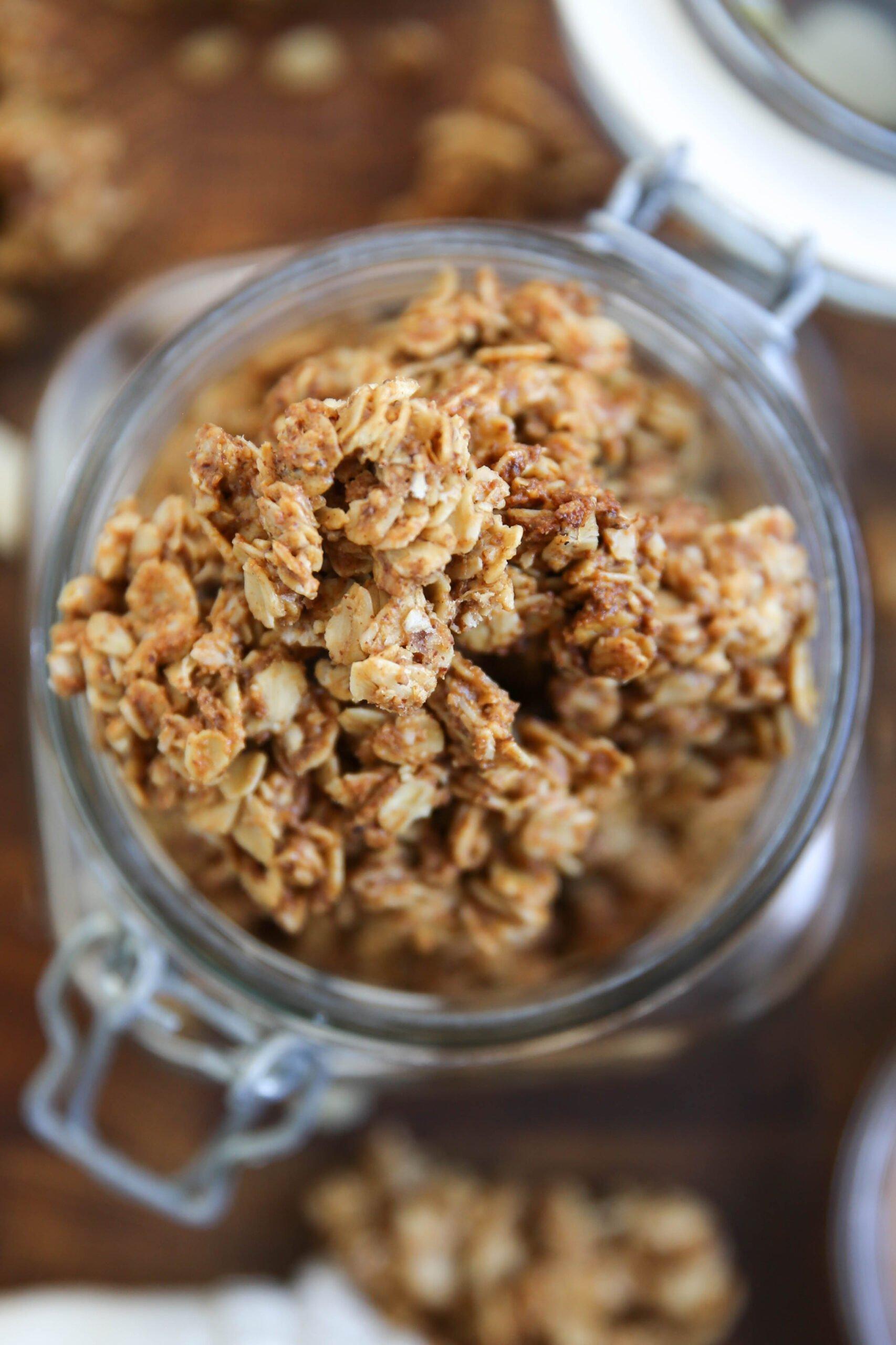 PaleOMG Maple Almond Butter Granola