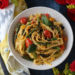 Spring Vegetable Lemon Basil Pasta